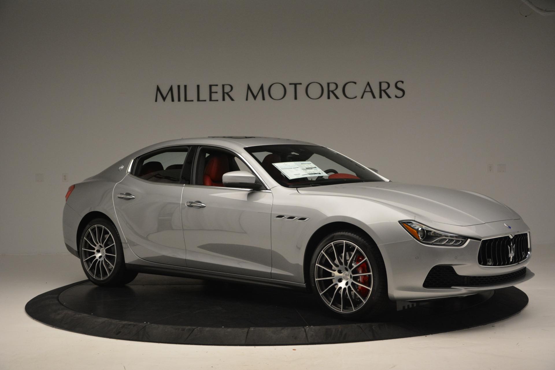 New 2017 Maserati Ghibli S Q4 For Sale In Greenwich, CT. Alfa Romeo of Greenwich, W338 572_p10