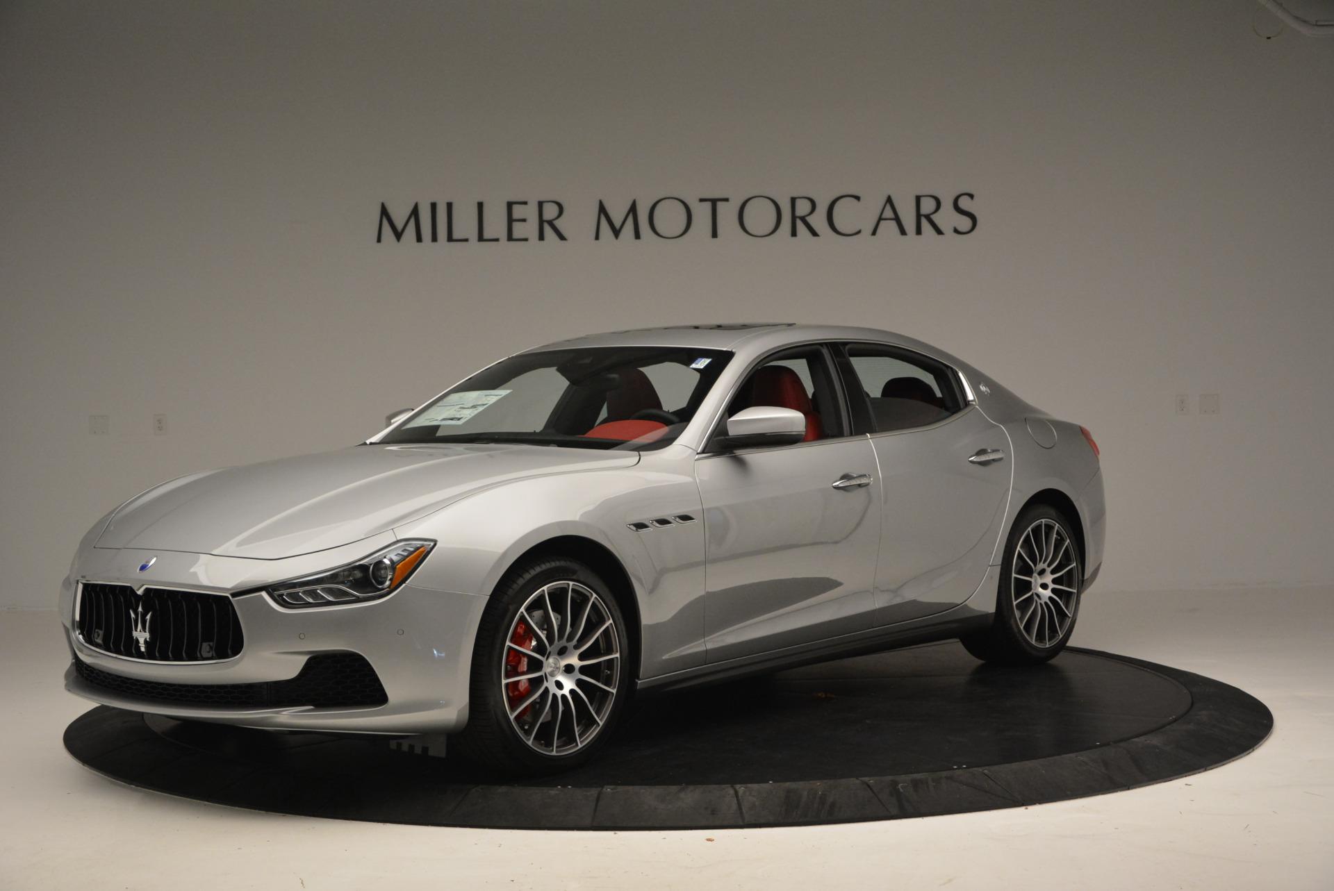 New 2017 Maserati Ghibli S Q4 For Sale In Greenwich, CT. Alfa Romeo of Greenwich, W338 572_p2