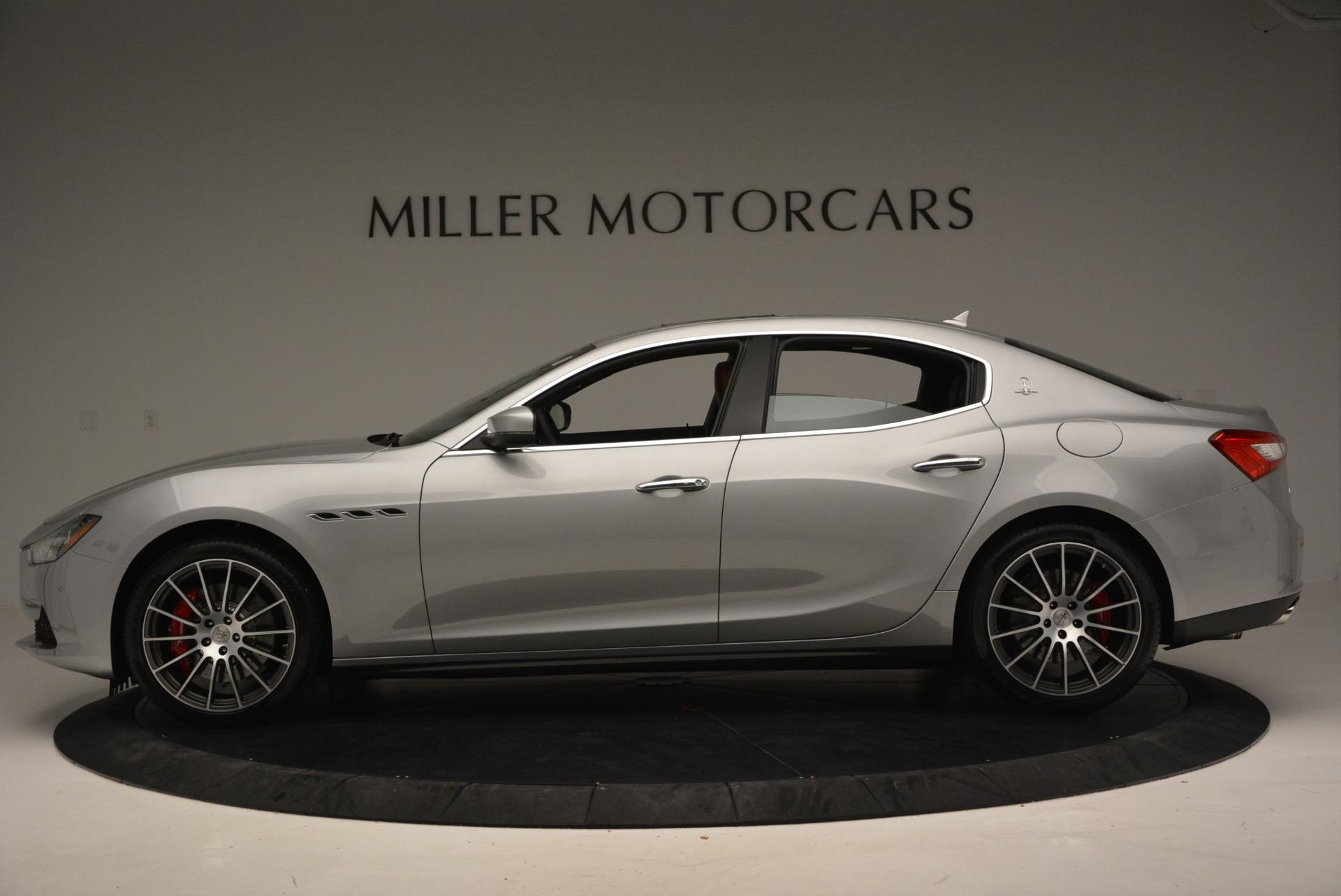 New 2017 Maserati Ghibli S Q4 For Sale In Greenwich, CT. Alfa Romeo of Greenwich, W338 572_p3