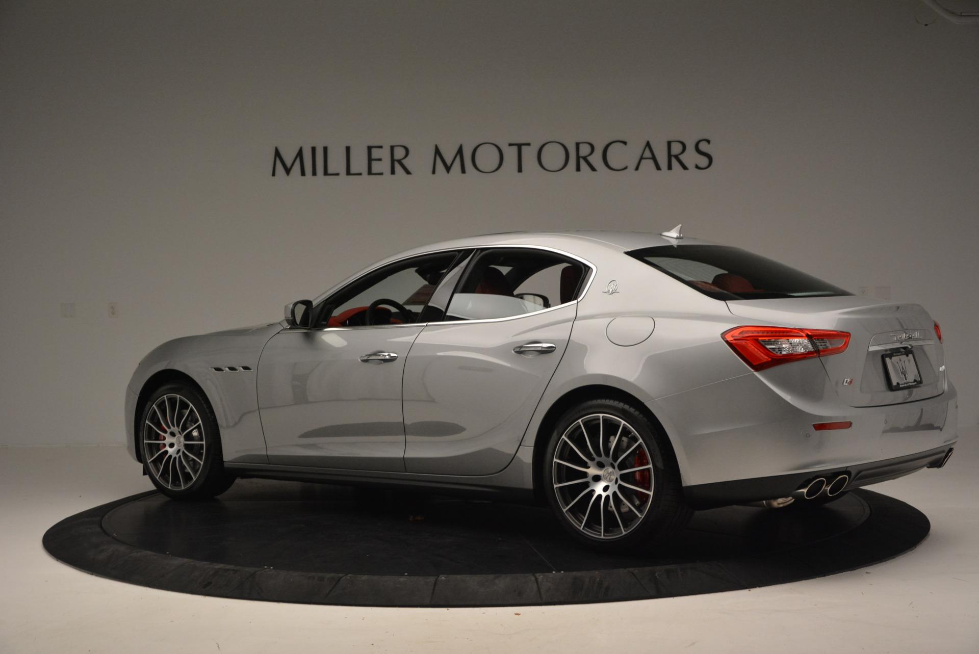 New 2017 Maserati Ghibli S Q4 For Sale In Greenwich, CT. Alfa Romeo of Greenwich, W338 572_p4