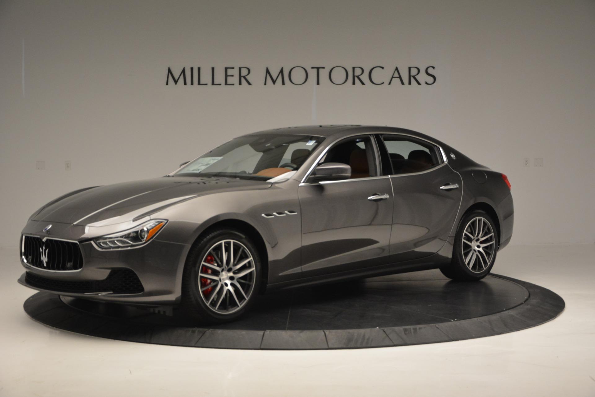 New 2017 Maserati Ghibli S Q4 For Sale In Greenwich, CT. Alfa Romeo of Greenwich, W322 573_p2