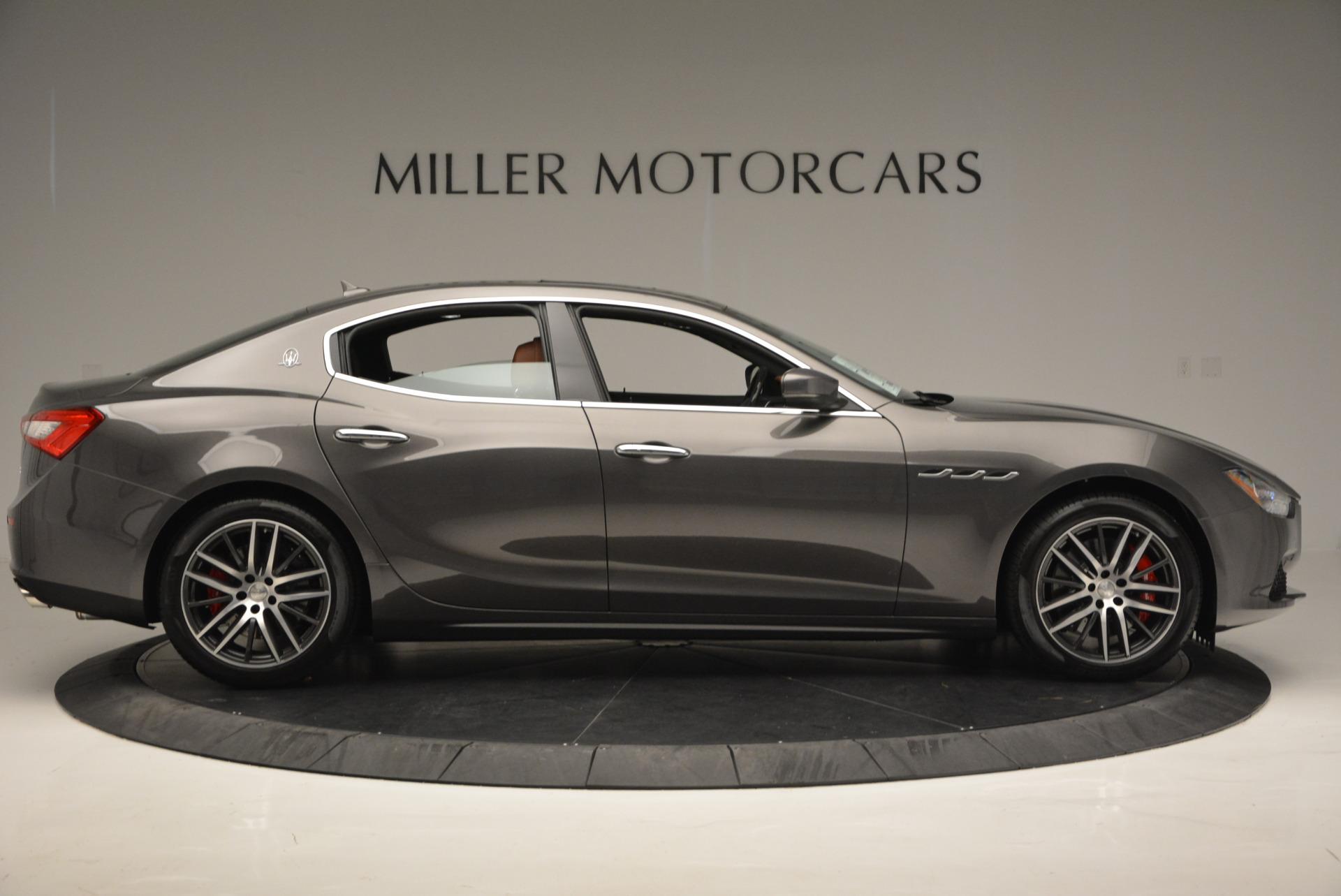 New 2017 Maserati Ghibli S Q4 For Sale In Greenwich, CT. Alfa Romeo of Greenwich, W322 573_p9