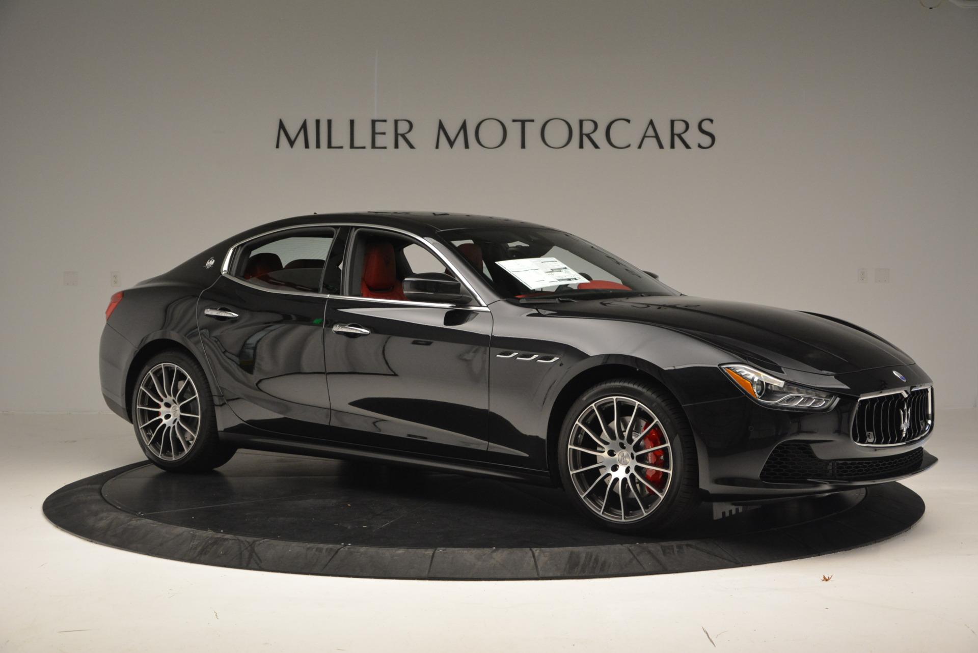 New 2017 Maserati Ghibli S Q4 For Sale In Greenwich, CT. Alfa Romeo of Greenwich, M1685 578_p10