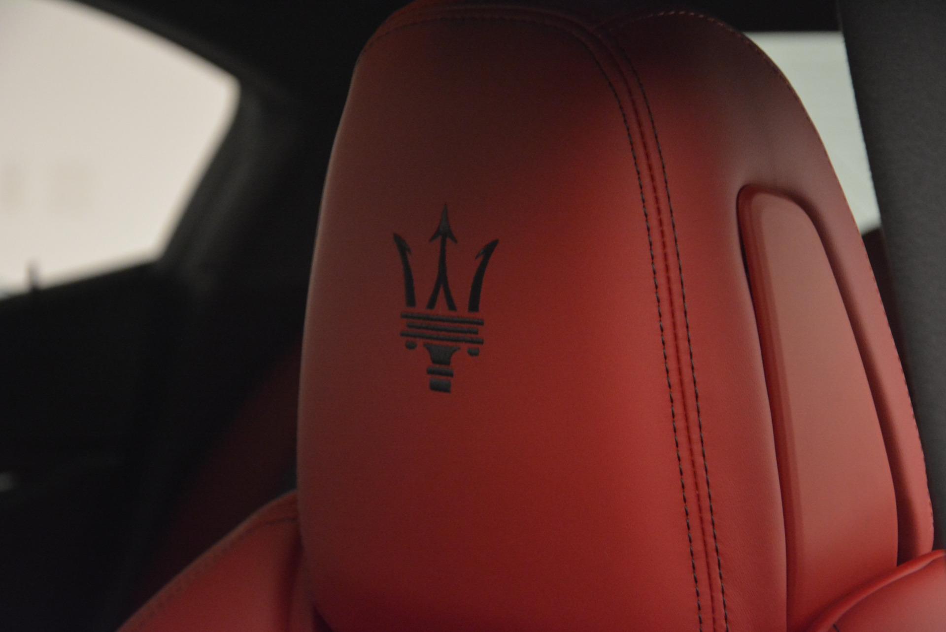 New 2017 Maserati Ghibli S Q4 For Sale In Greenwich, CT. Alfa Romeo of Greenwich, M1685 578_p16