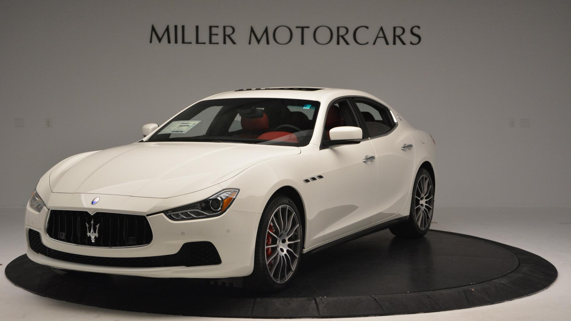 New 2016 Maserati Ghibli S Q4 For Sale In Greenwich, CT. Alfa Romeo of Greenwich, W266 58_main
