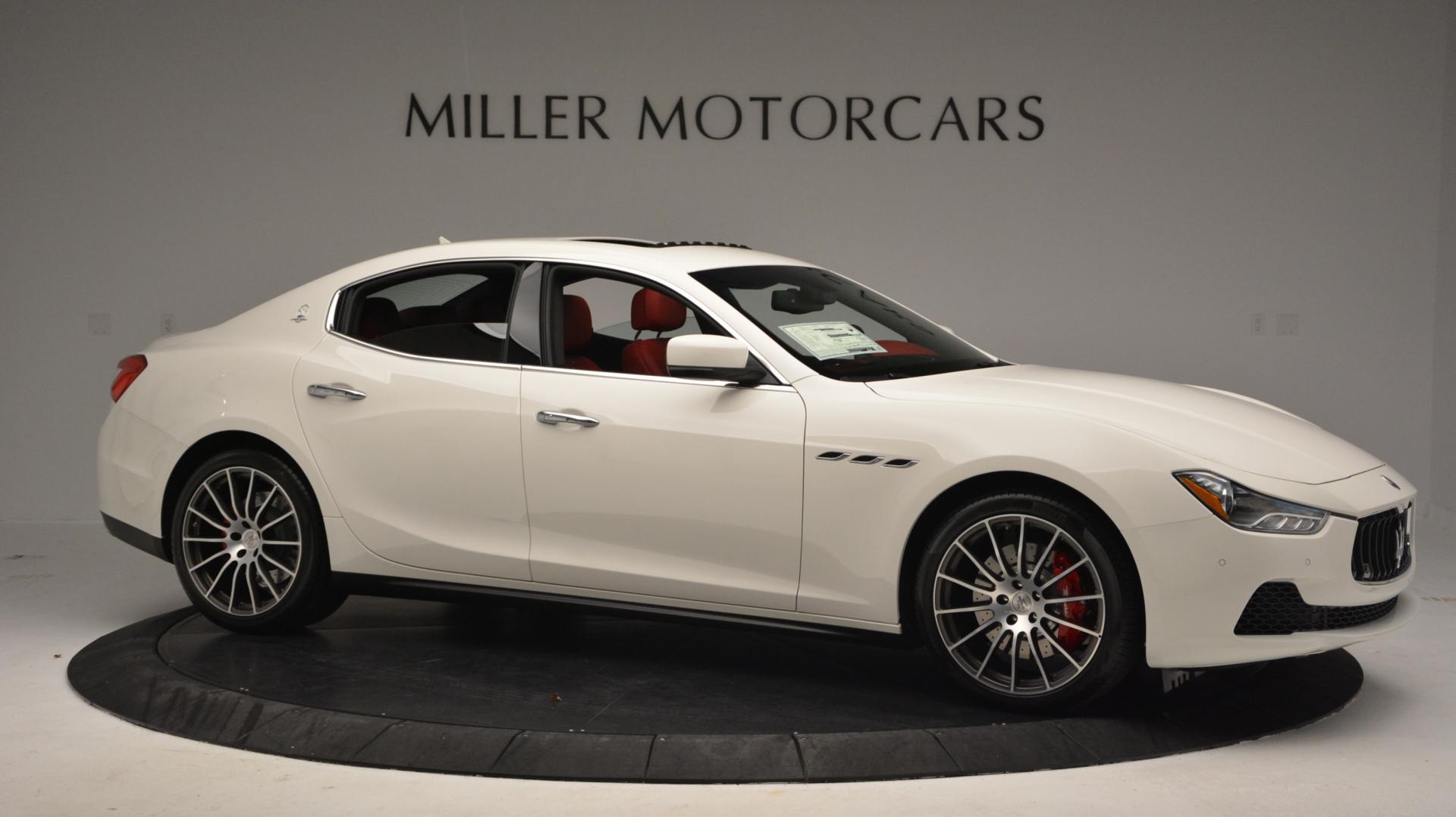 New 2016 Maserati Ghibli S Q4 For Sale In Greenwich, CT. Alfa Romeo of Greenwich, W266 58_p10