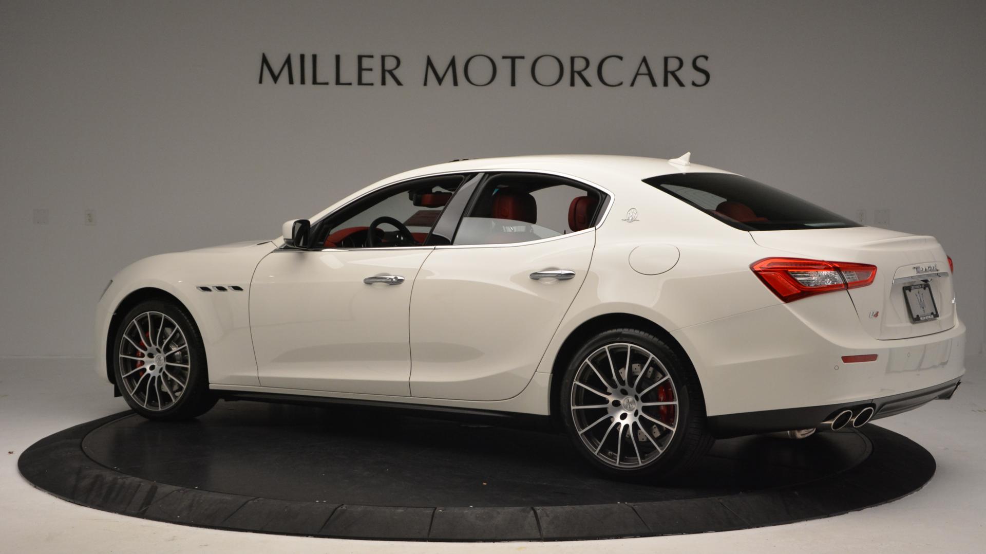 New 2016 Maserati Ghibli S Q4 For Sale In Greenwich, CT. Alfa Romeo of Greenwich, W266 58_p4