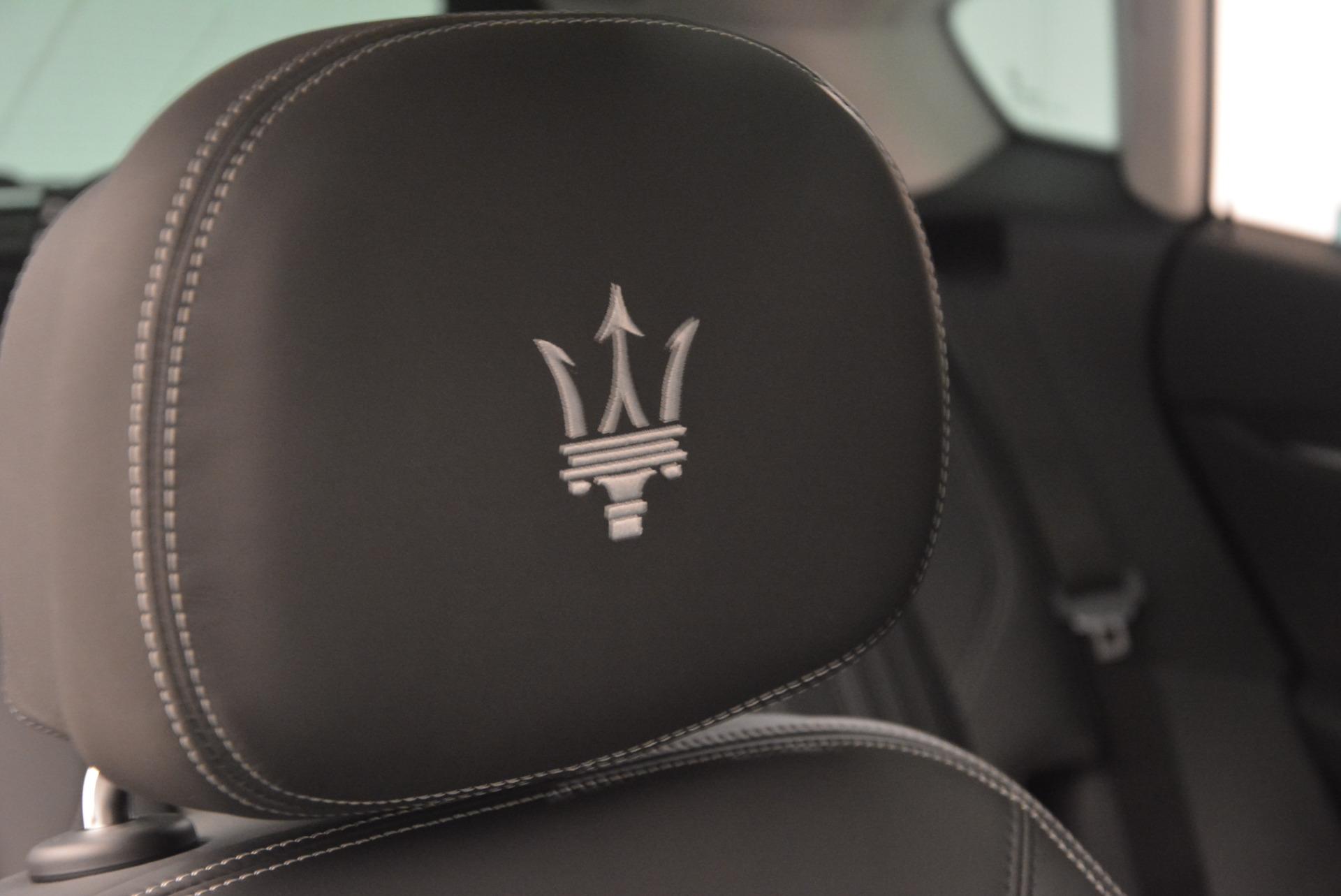 New 2017 Maserati Levante 350hp For Sale In Greenwich, CT. Alfa Romeo of Greenwich, W1678 584_p25