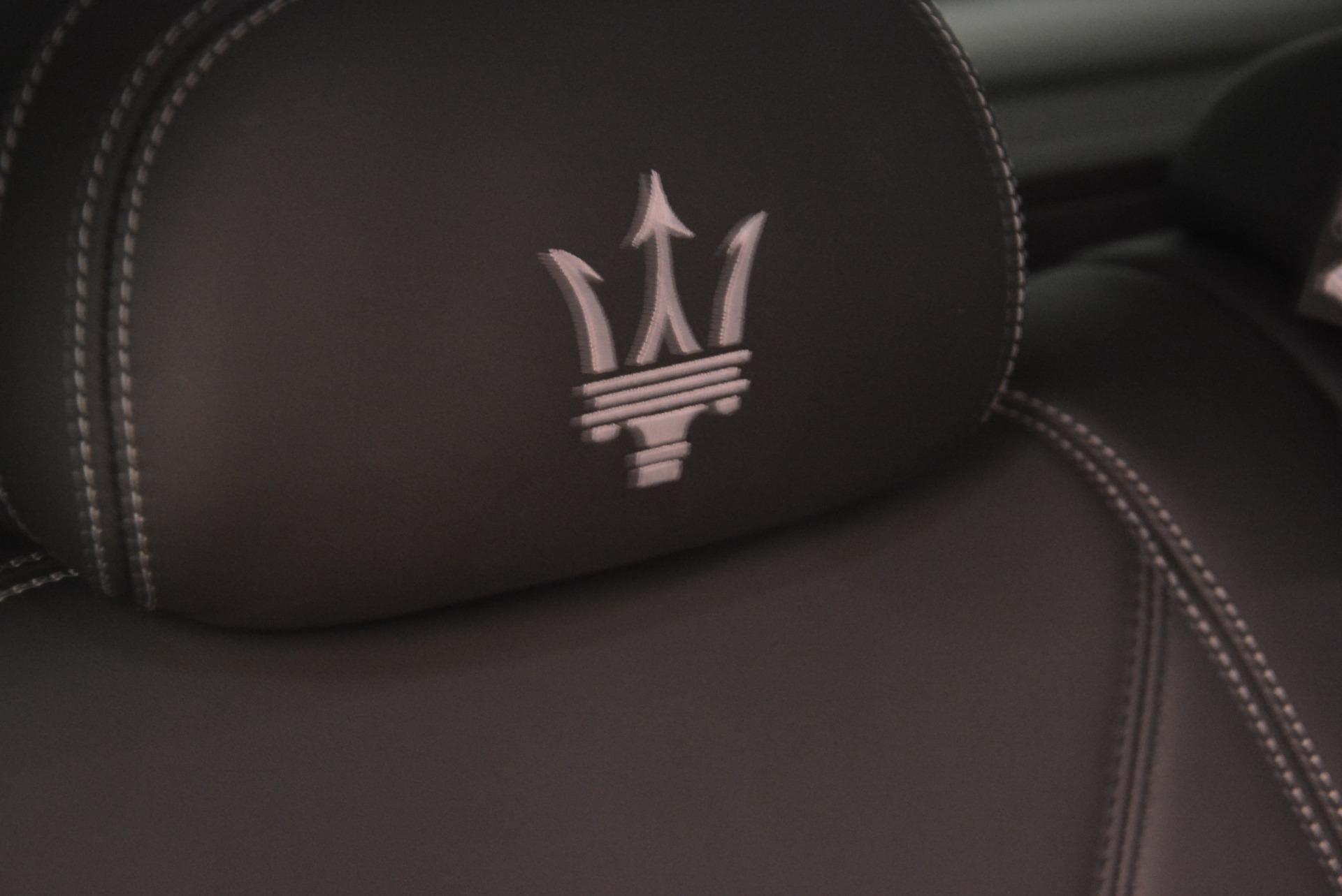 New 2017 Maserati Levante 350hp For Sale In Greenwich, CT. Alfa Romeo of Greenwich, W1678 584_p28