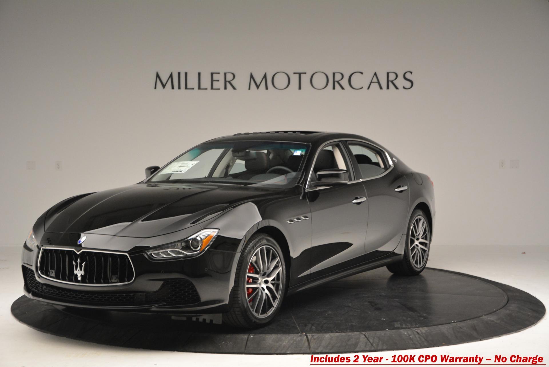 Used 2016 Maserati Ghibli S Q4 For Sale In Greenwich, CT. Alfa Romeo of Greenwich, M1477 59_main
