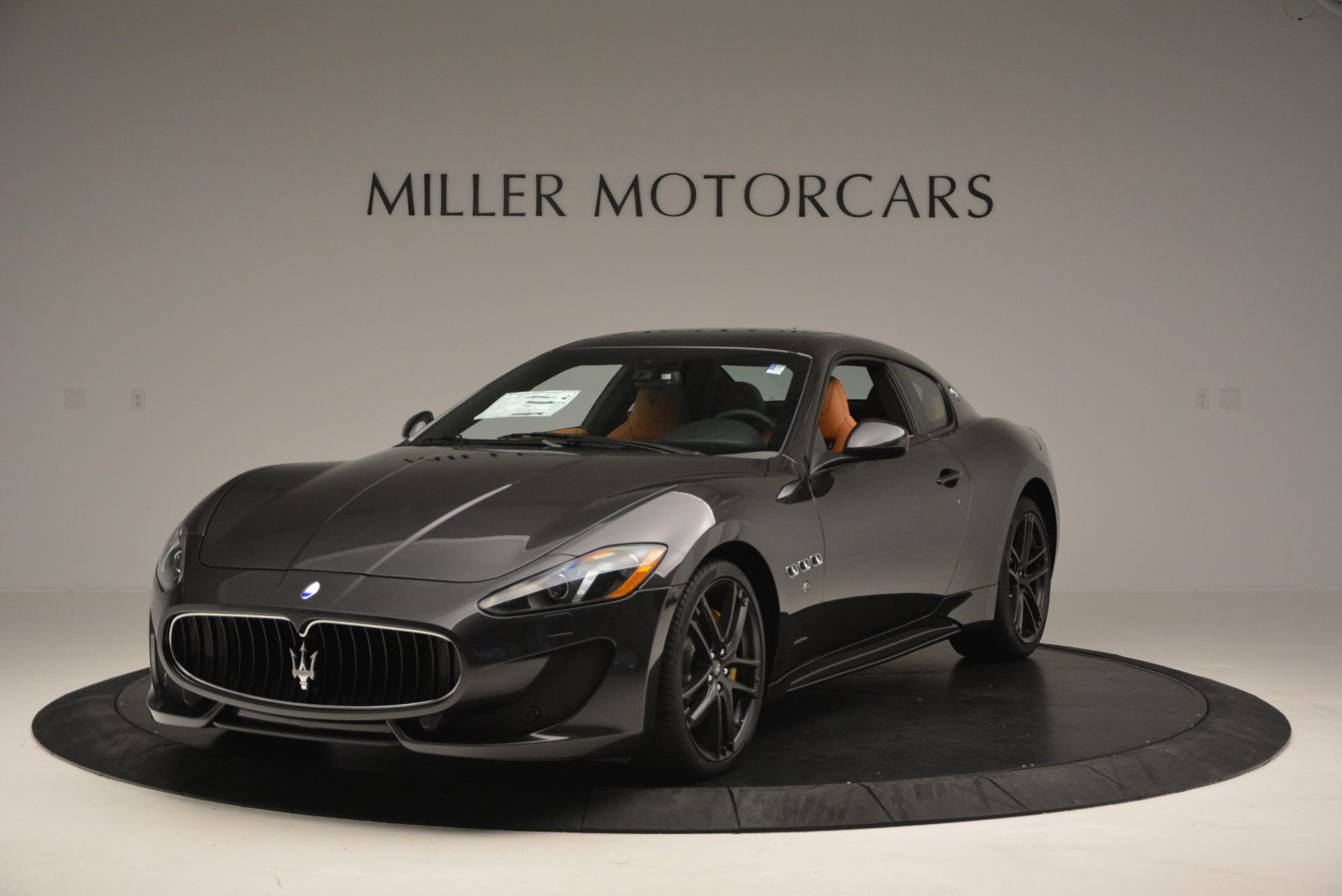 New 2017 Maserati GranTurismo Sport For Sale In Greenwich, CT. Alfa Romeo of Greenwich, M1633 593_main