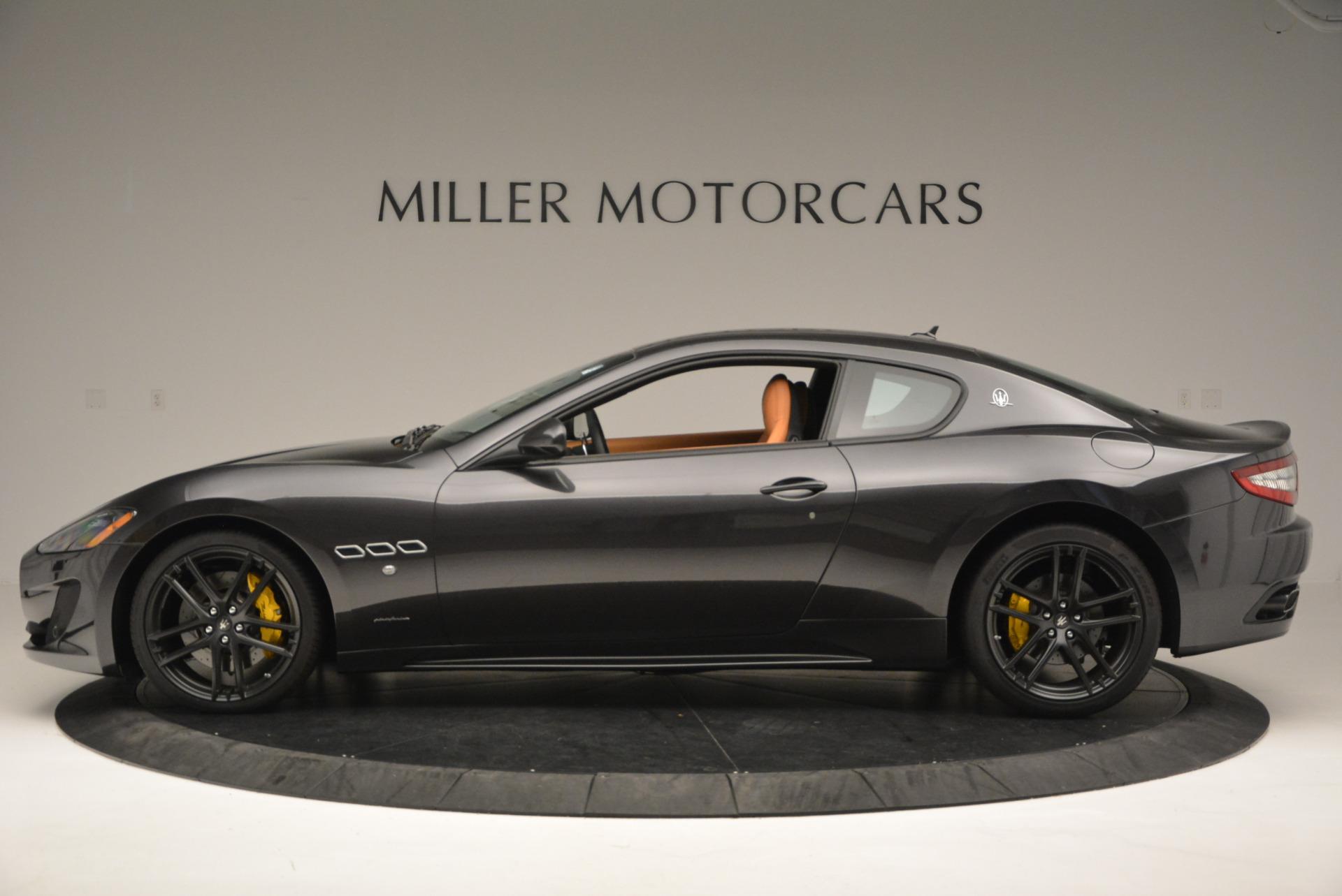 New 2017 Maserati GranTurismo Sport For Sale In Greenwich, CT. Alfa Romeo of Greenwich, M1633 593_p3