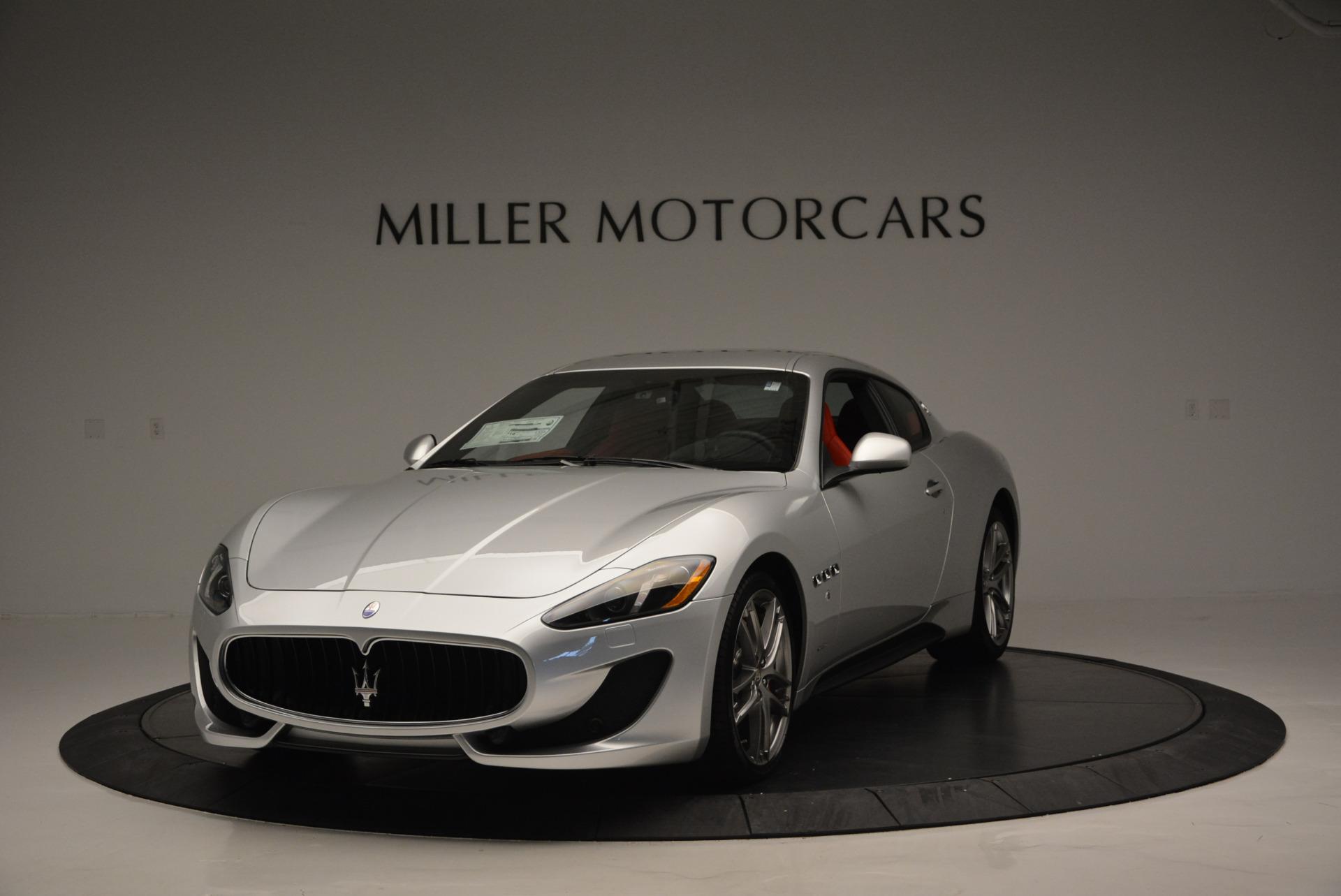 New 2017 Maserati GranTurismo Sport For Sale In Greenwich, CT. Alfa Romeo of Greenwich, W306 594_main