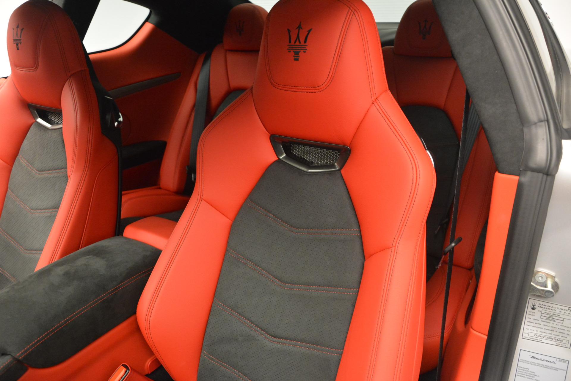 New 2017 Maserati GranTurismo Sport For Sale In Greenwich, CT. Alfa Romeo of Greenwich, W306 594_p17