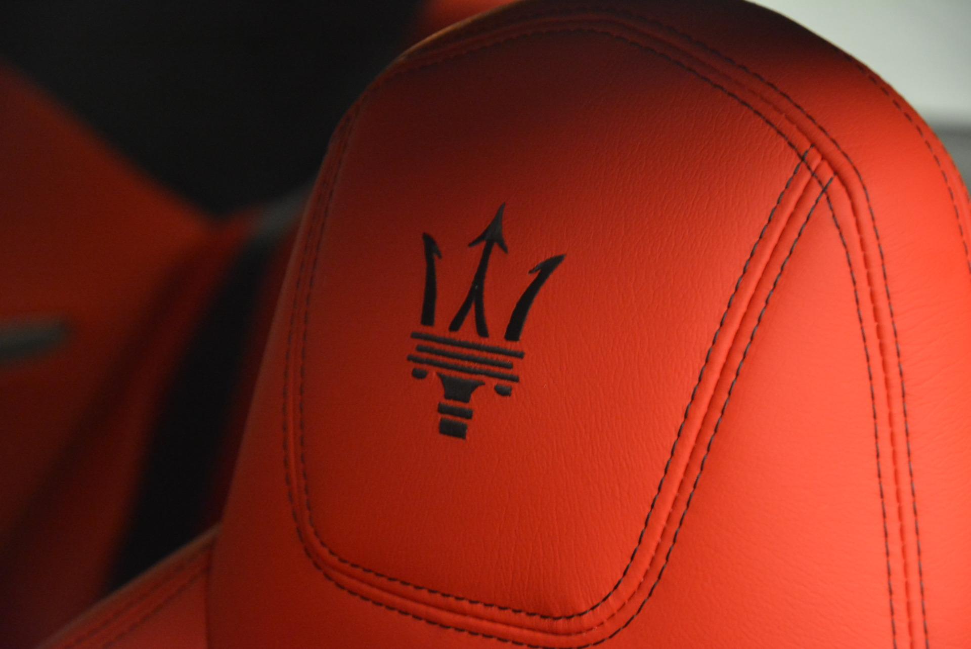 New 2017 Maserati GranTurismo Sport For Sale In Greenwich, CT. Alfa Romeo of Greenwich, W306 594_p19