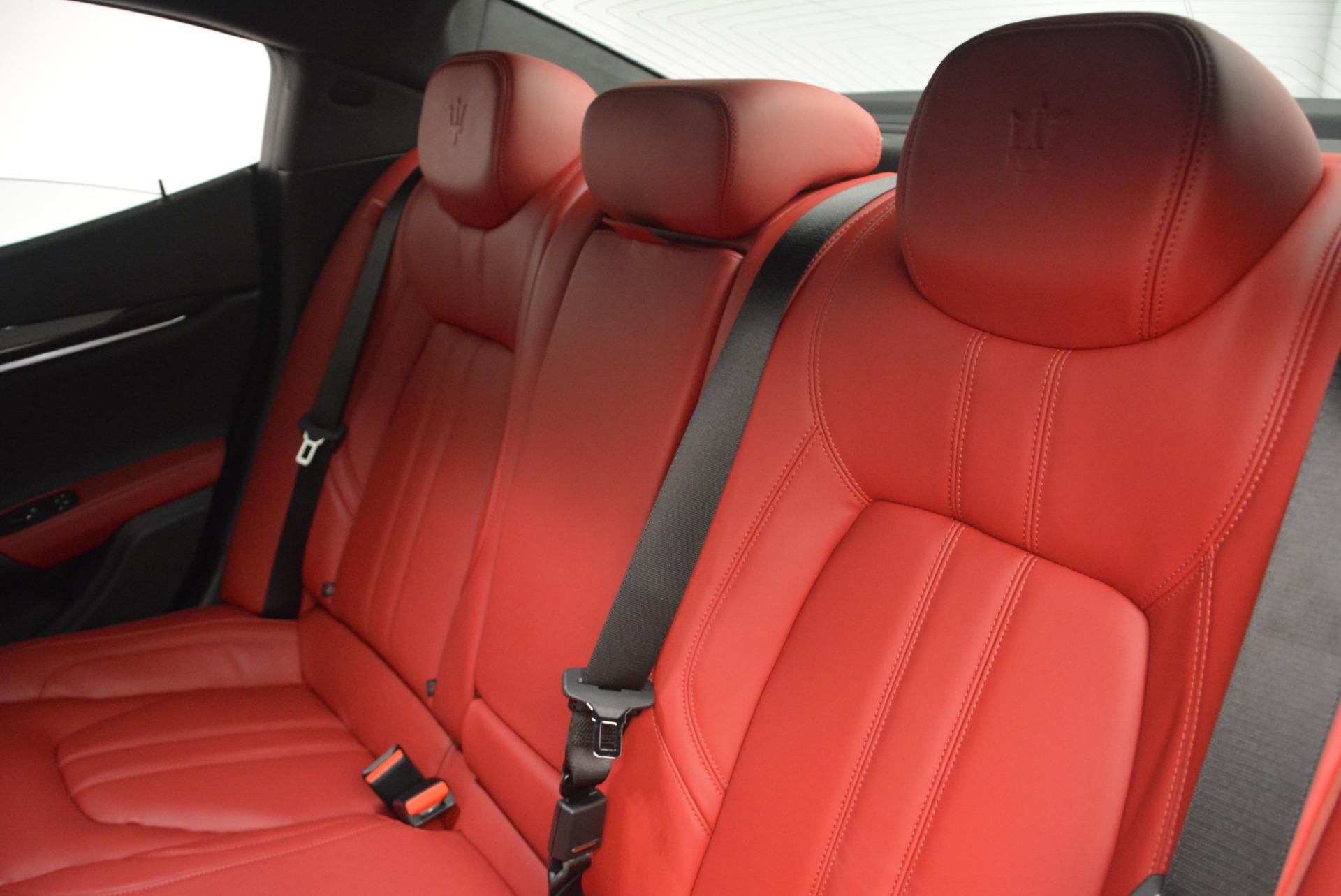 New 2017 Maserati Ghibli S Q4 For Sale In Greenwich, CT. Alfa Romeo of Greenwich, M1684 599_p20