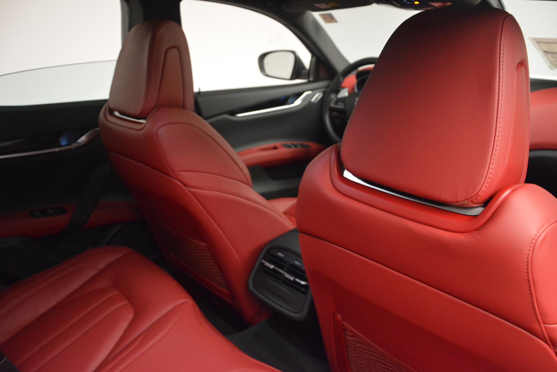 New 2017 Maserati Ghibli S Q4 For Sale In Greenwich, CT. Alfa Romeo of Greenwich, M1684 599_p26