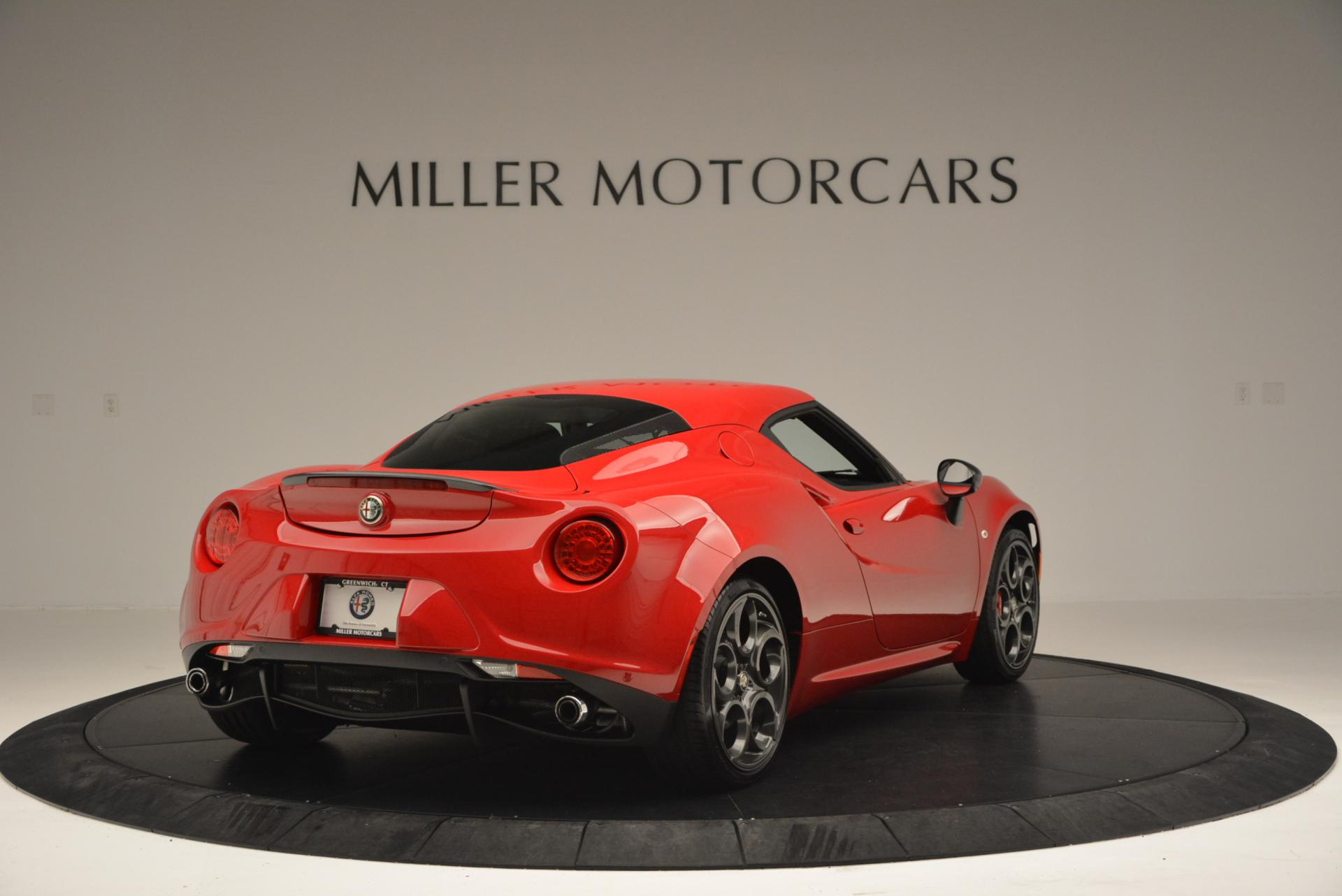 Used 2015 Alfa Romeo 4C Launch Edition For Sale In Greenwich, CT. Alfa Romeo of Greenwich, 7027 6_p7