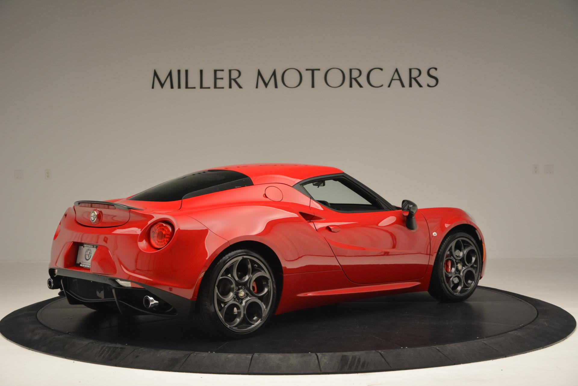 Used 2015 Alfa Romeo 4C Launch Edition For Sale In Greenwich, CT. Alfa Romeo of Greenwich, 7027 6_p8