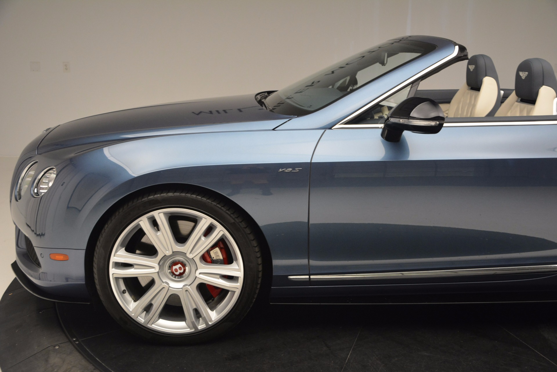 Used 2014 Bentley Continental GT V8 S Convertible  For Sale In Greenwich, CT. Alfa Romeo of Greenwich, B1177A 600_p26