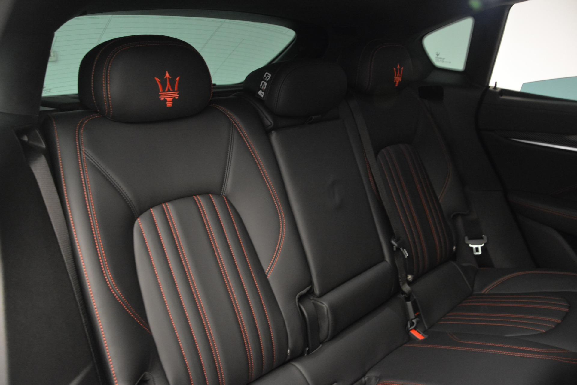 New 2017 Maserati Levante  For Sale In Greenwich, CT. Alfa Romeo of Greenwich, W334 602_p33