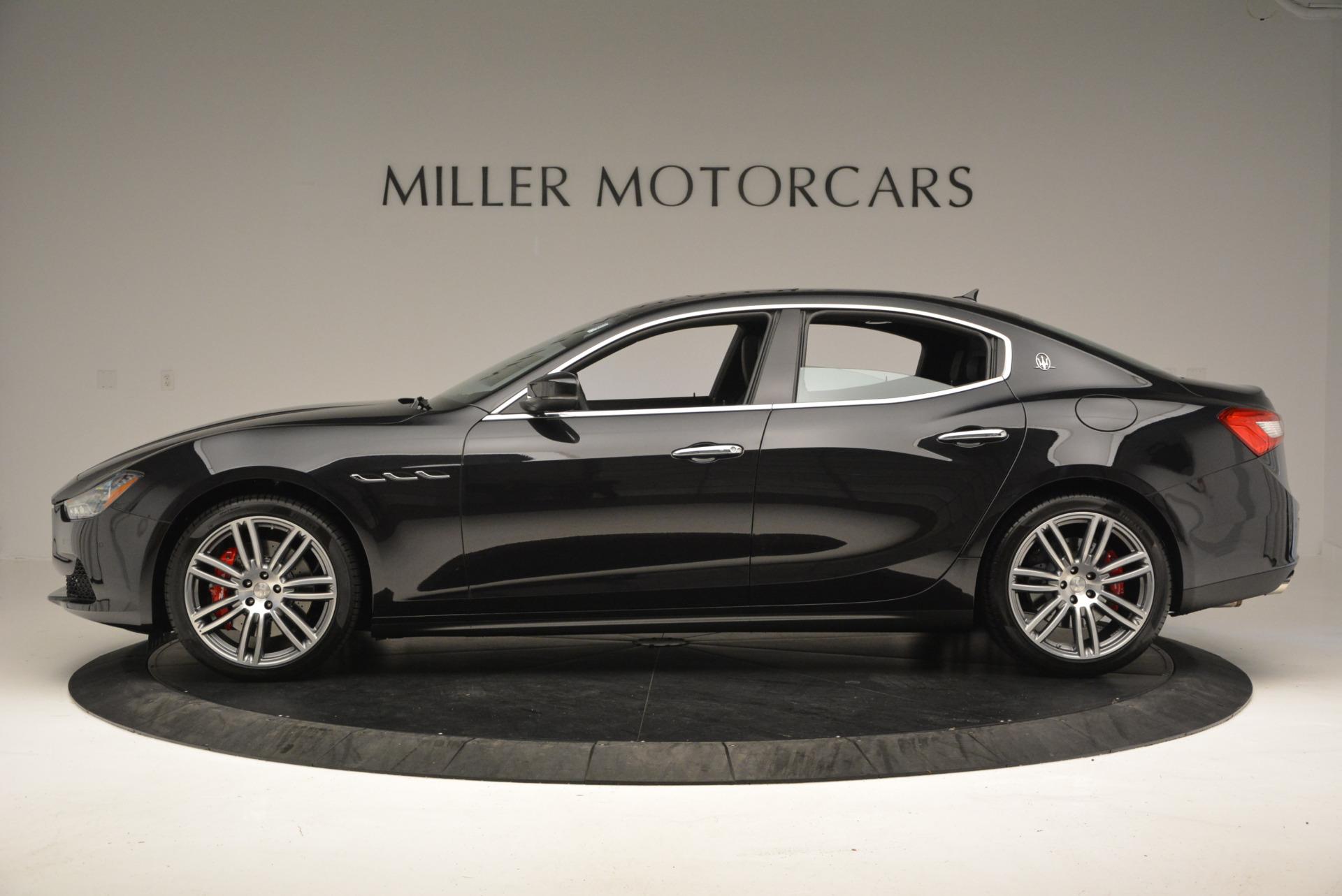 New 2017 Maserati Ghibli S Q4 For Sale In Greenwich, CT. Alfa Romeo of Greenwich, M1692 605_p3