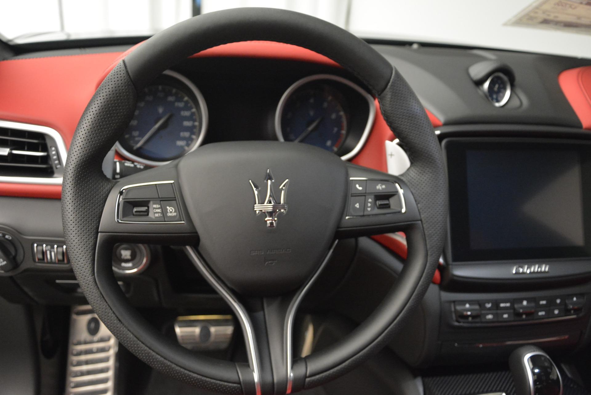 New 2017 Maserati Ghibli S Q4 For Sale In Greenwich, CT. Alfa Romeo of Greenwich, M1695 606_p17