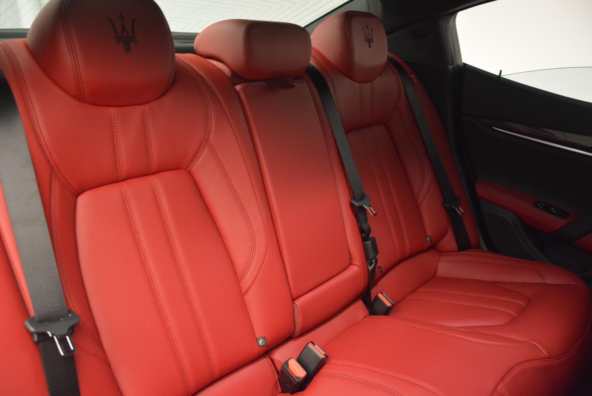 New 2017 Maserati Ghibli S Q4 For Sale In Greenwich, CT. Alfa Romeo of Greenwich, M1695 606_p26