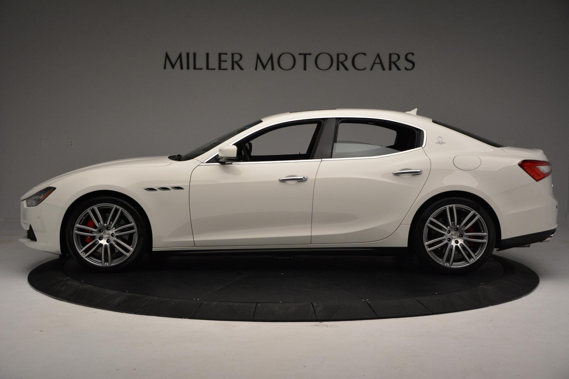 New 2017 Maserati Ghibli S Q4 For Sale In Greenwich, CT. Alfa Romeo of Greenwich, M1695 606_p3