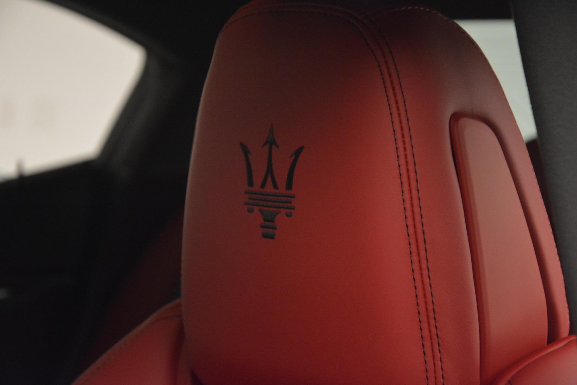 New 2017 Maserati Ghibli S Q4 For Sale In Greenwich, CT. Alfa Romeo of Greenwich, M1691 607_p14