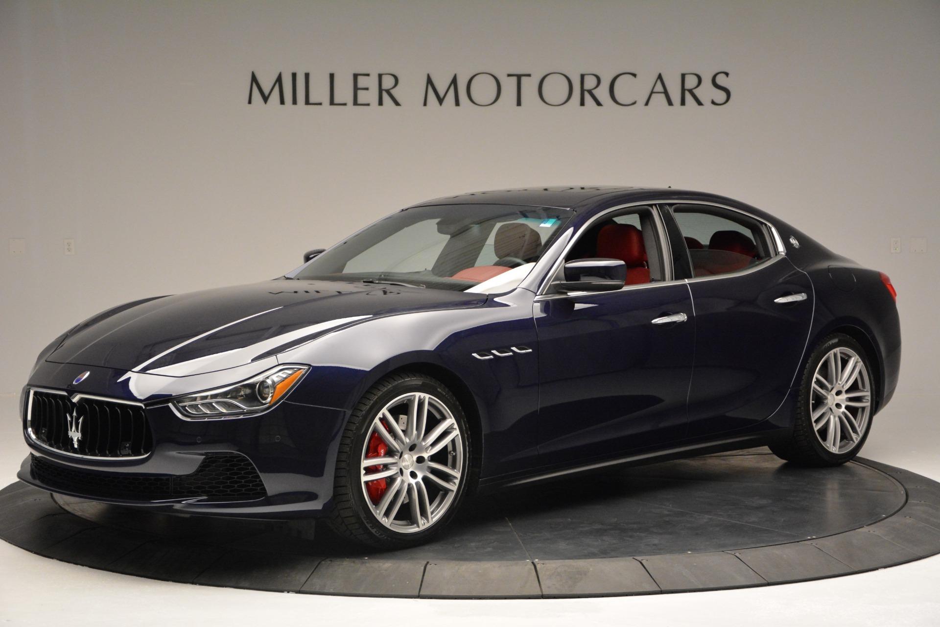New 2017 Maserati Ghibli S Q4 For Sale In Greenwich, CT. Alfa Romeo of Greenwich, M1691 607_p2