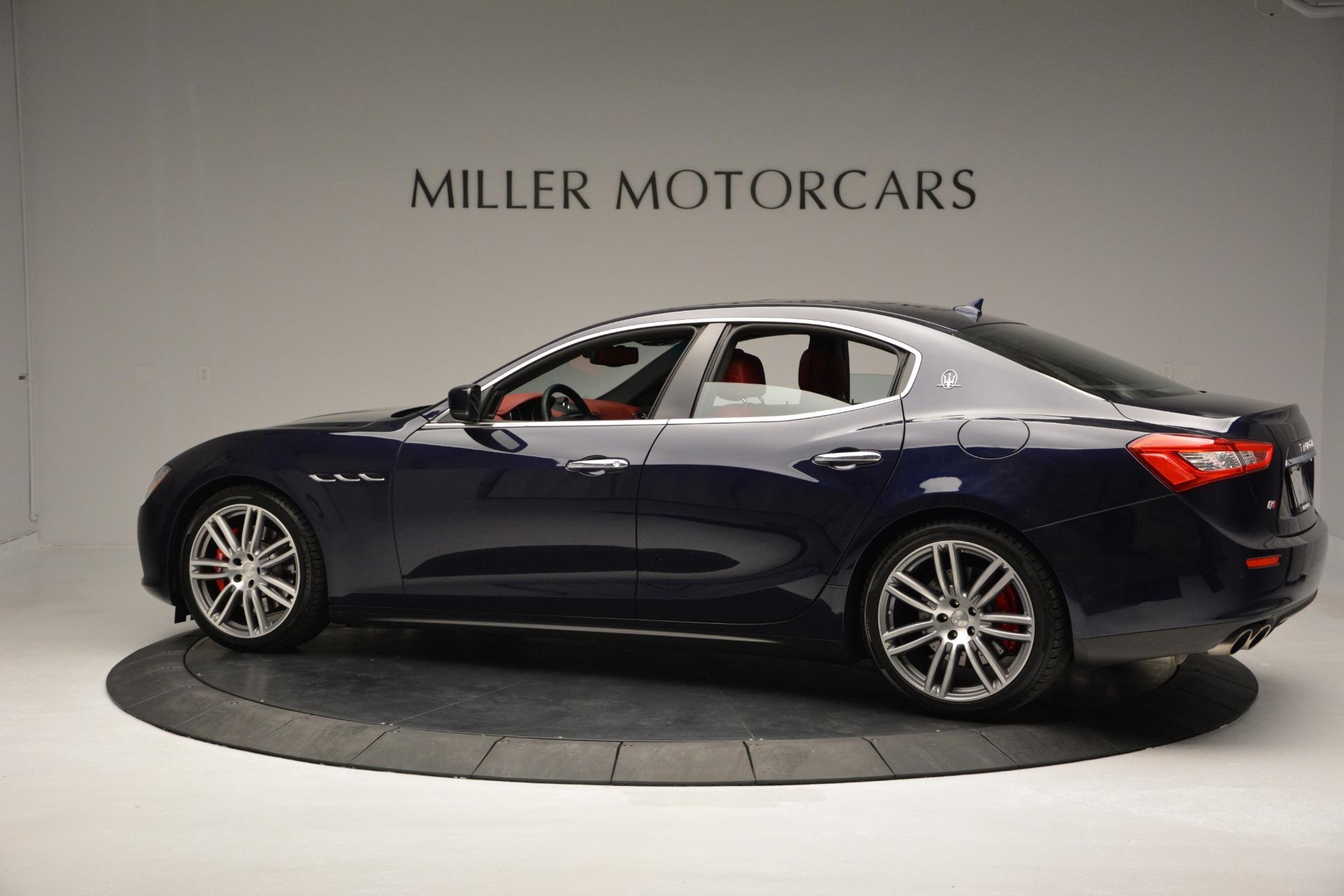 New 2017 Maserati Ghibli S Q4 For Sale In Greenwich, CT. Alfa Romeo of Greenwich, M1691 607_p4