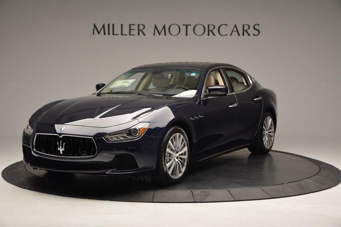 New 2016 Maserati Ghibli S Q4 For Sale In Greenwich, CT. Alfa Romeo of Greenwich, W302 61_main