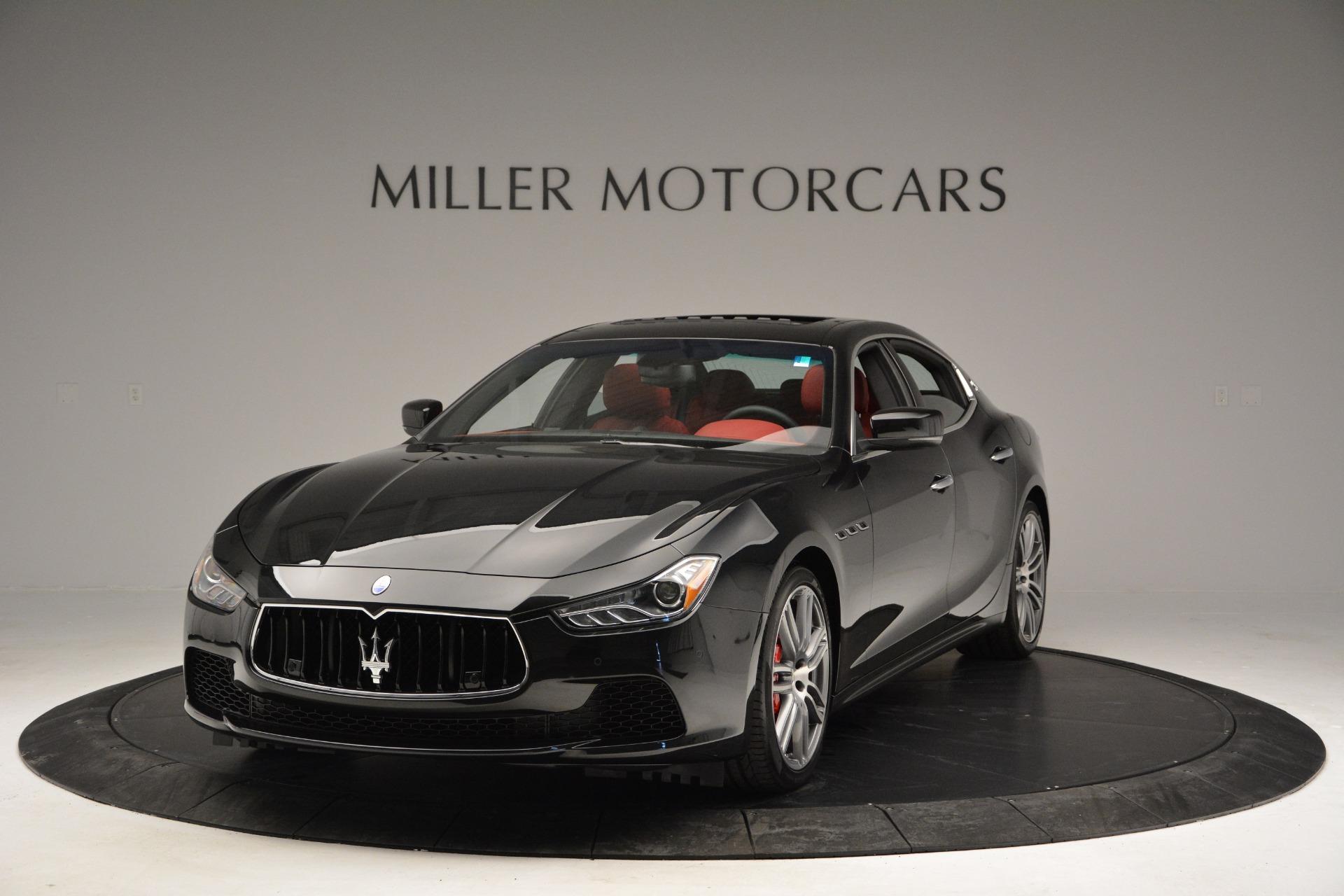 New 2017 Maserati Ghibli S Q4 For Sale In Greenwich, CT. Alfa Romeo of Greenwich, M1687 610_main
