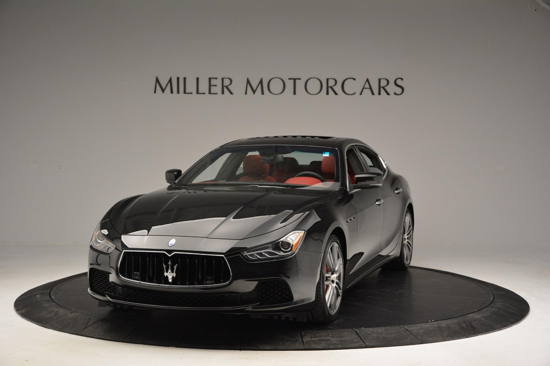 New 2017 Maserati Ghibli S Q4 For Sale In Greenwich, CT. Alfa Romeo of Greenwich, M1687 610_p14