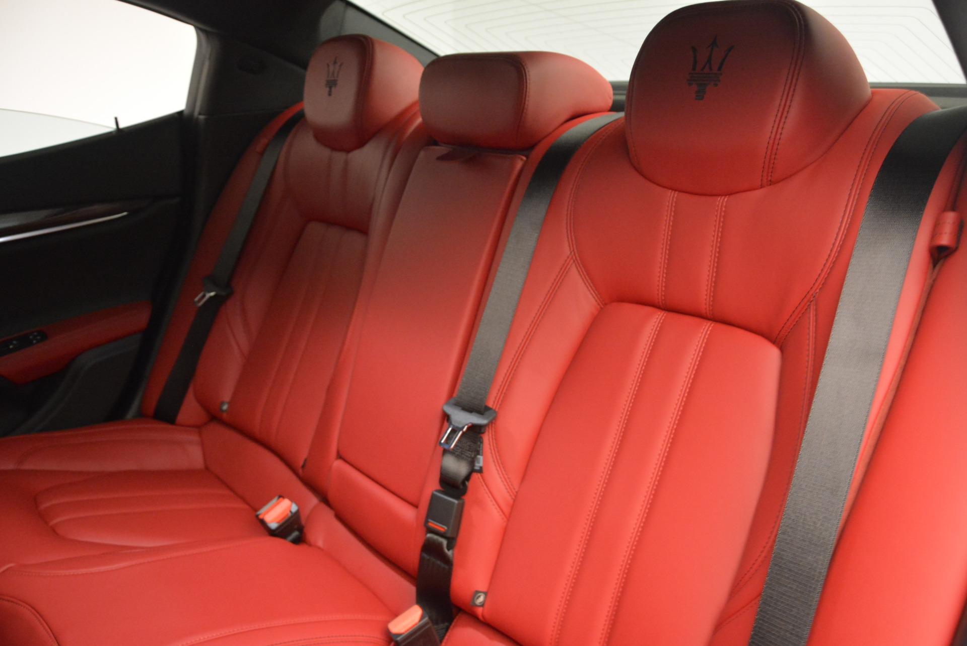 New 2017 Maserati Ghibli S Q4 For Sale In Greenwich, CT. Alfa Romeo of Greenwich, M1687 610_p25