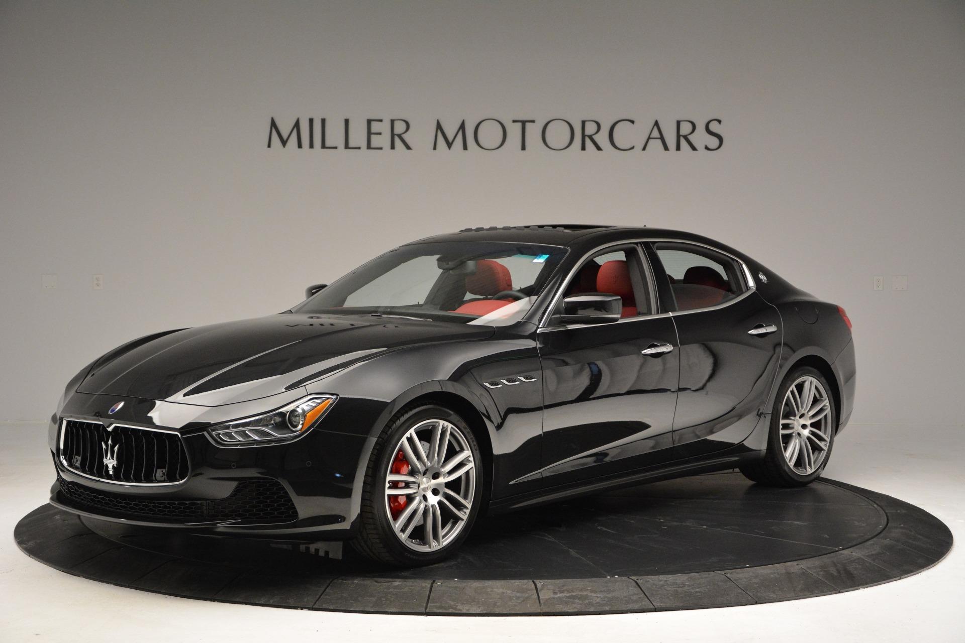 New 2017 Maserati Ghibli S Q4 For Sale In Greenwich, CT. Alfa Romeo of Greenwich, M1687 610_p2