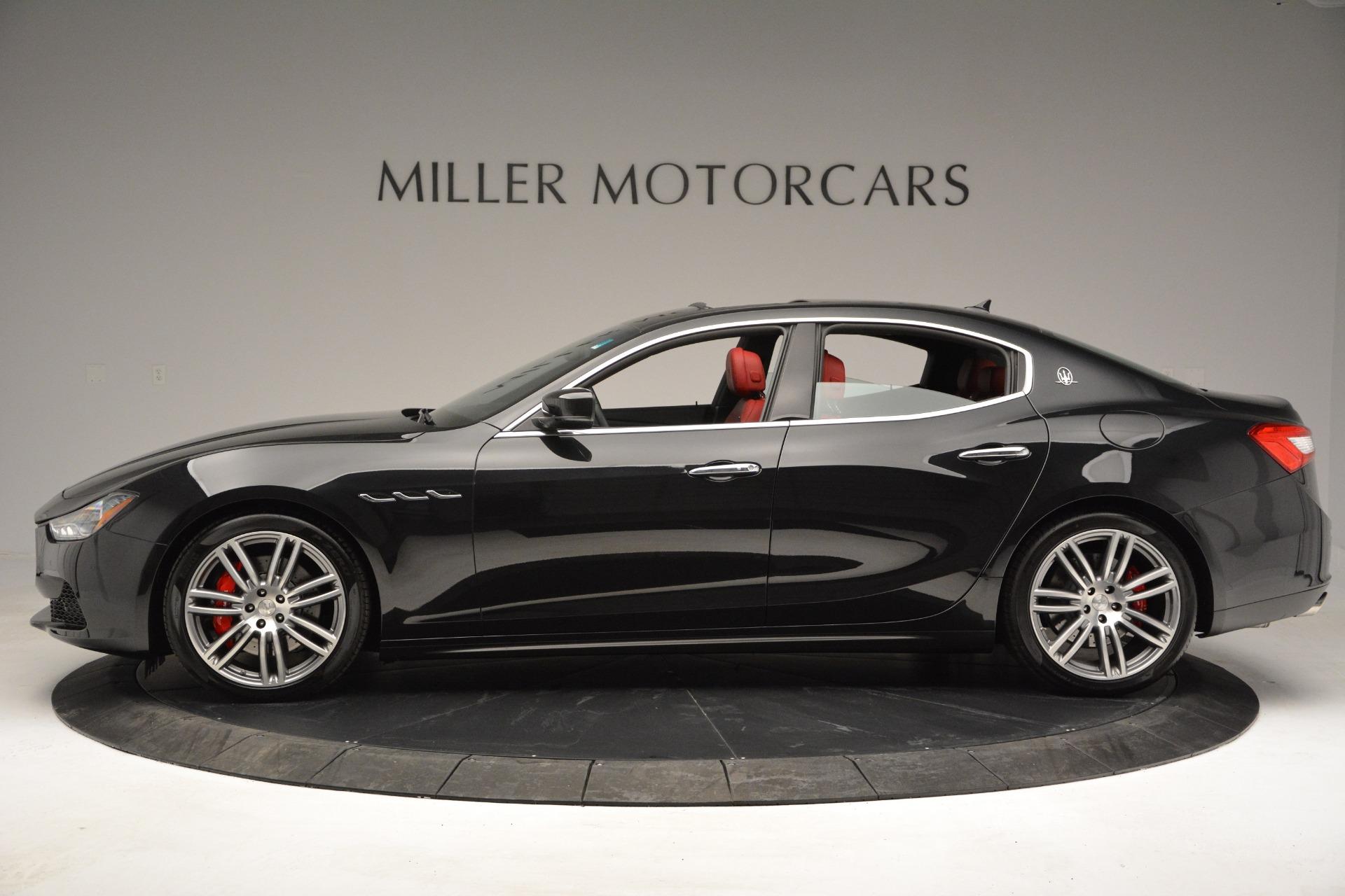 New 2017 Maserati Ghibli S Q4 For Sale In Greenwich, CT. Alfa Romeo of Greenwich, M1687 610_p4