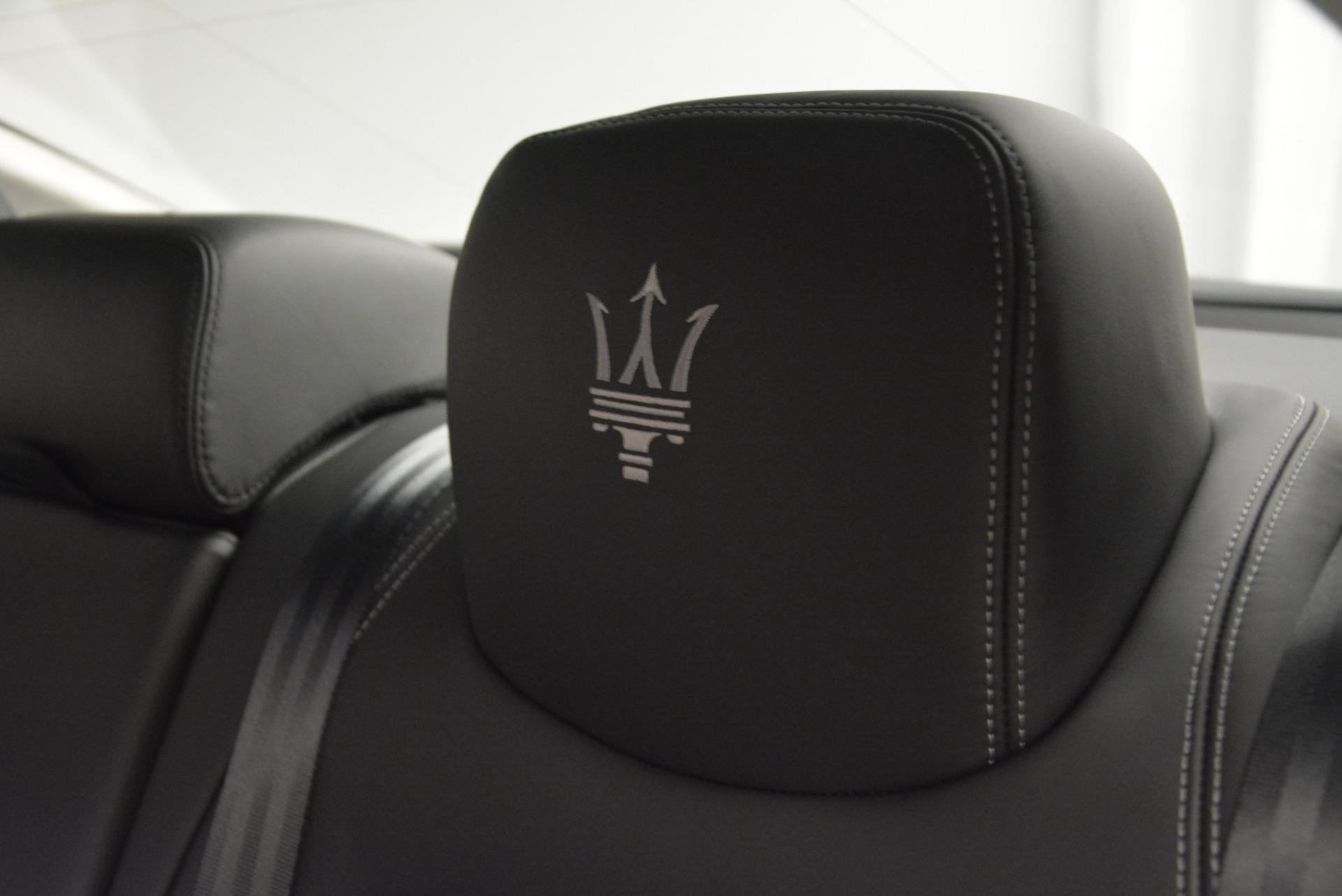 New 2017 Maserati Quattroporte S Q4 GranLusso For Sale In Greenwich, CT. Alfa Romeo of Greenwich, M1686 611_p20