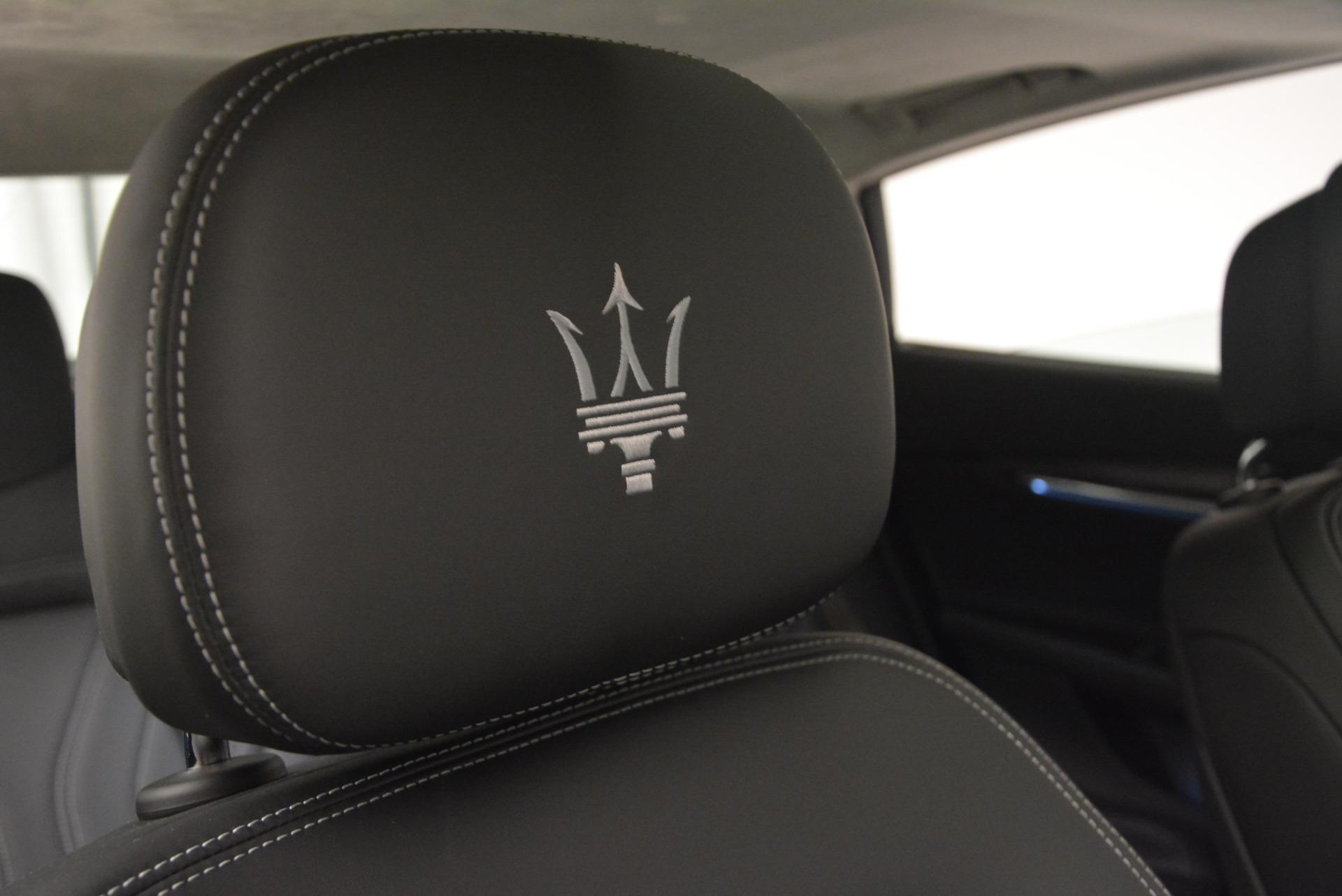 New 2017 Maserati Quattroporte S Q4 GranLusso For Sale In Greenwich, CT. Alfa Romeo of Greenwich, M1686 611_p24