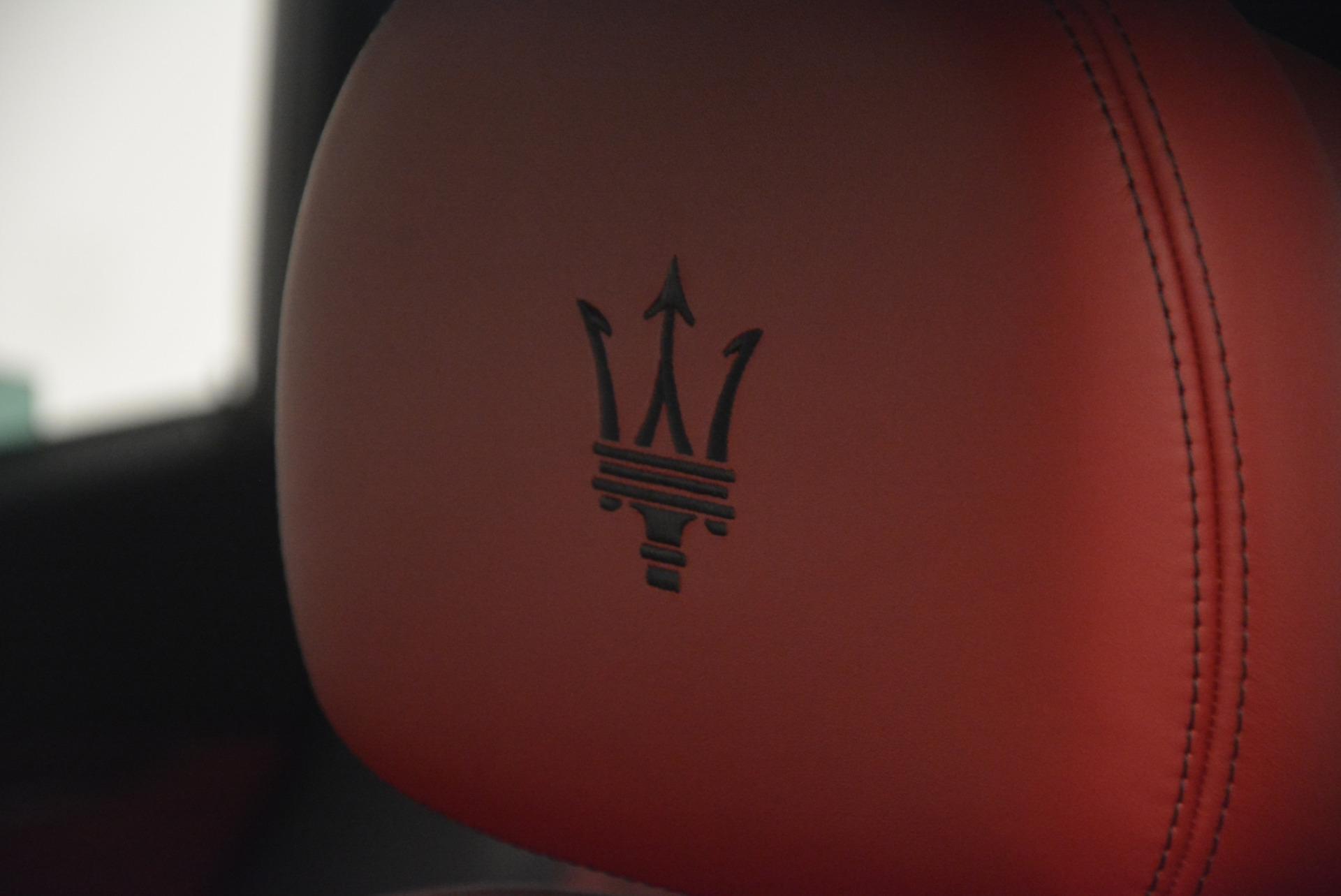 New 2017 Maserati Levante  For Sale In Greenwich, CT. Alfa Romeo of Greenwich, W371 613_p17