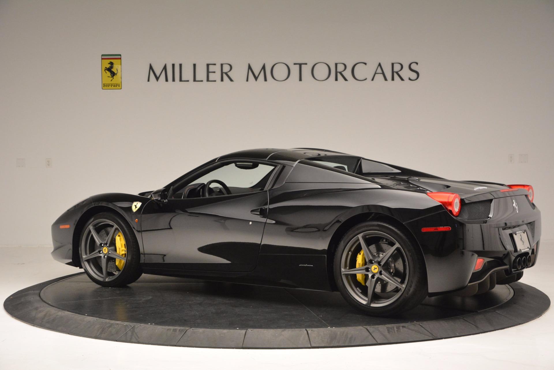 Used 2014 Ferrari 458 Spider  For Sale In Greenwich, CT. Alfa Romeo of Greenwich, 4345 620_p16