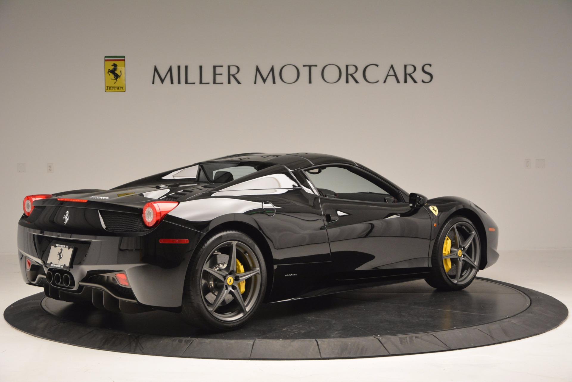 Used 2014 Ferrari 458 Spider  For Sale In Greenwich, CT. Alfa Romeo of Greenwich, 4345 620_p20