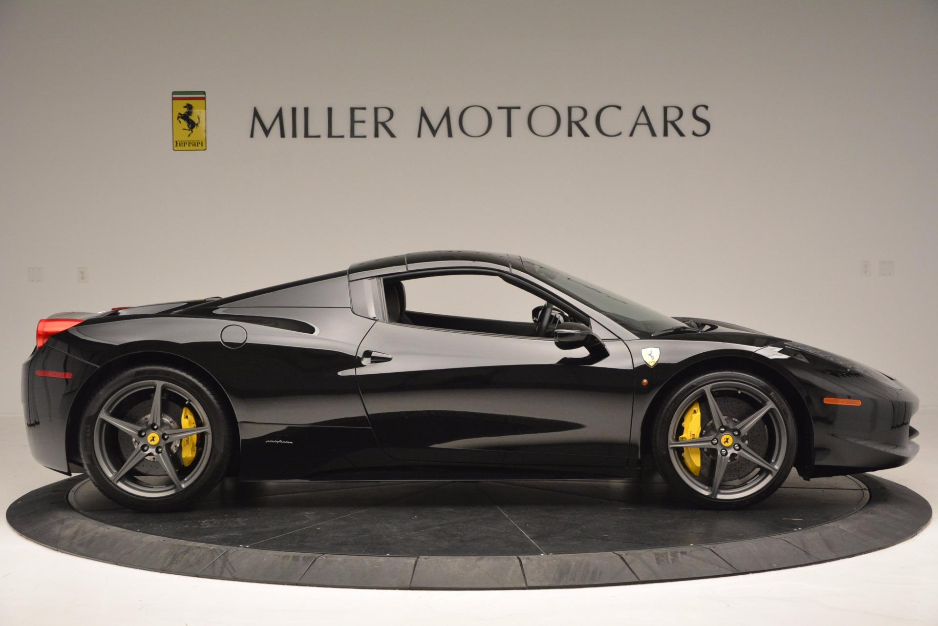 Used 2014 Ferrari 458 Spider  For Sale In Greenwich, CT. Alfa Romeo of Greenwich, 4345 620_p21