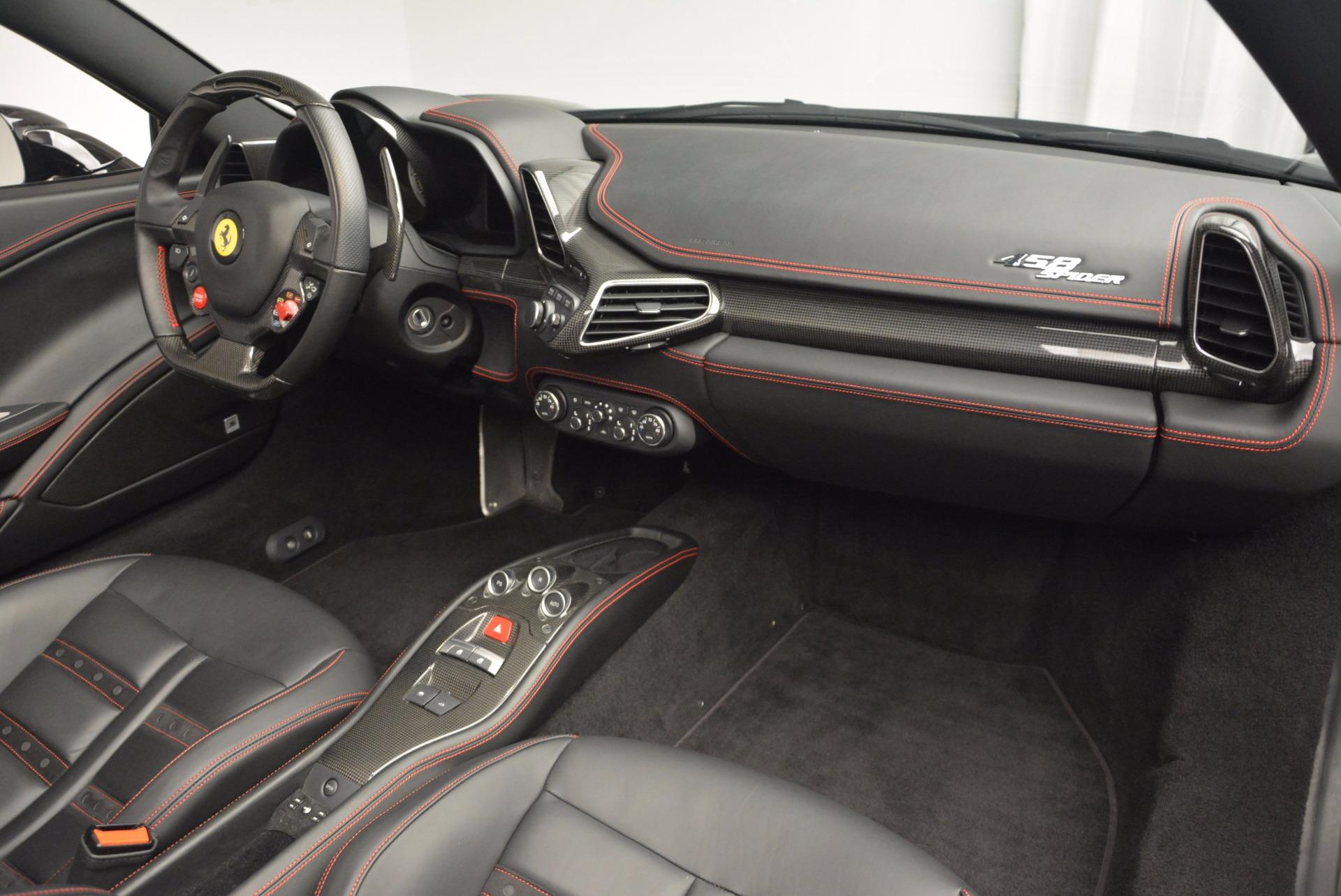 Used 2014 Ferrari 458 Spider  For Sale In Greenwich, CT. Alfa Romeo of Greenwich, 4345 620_p29