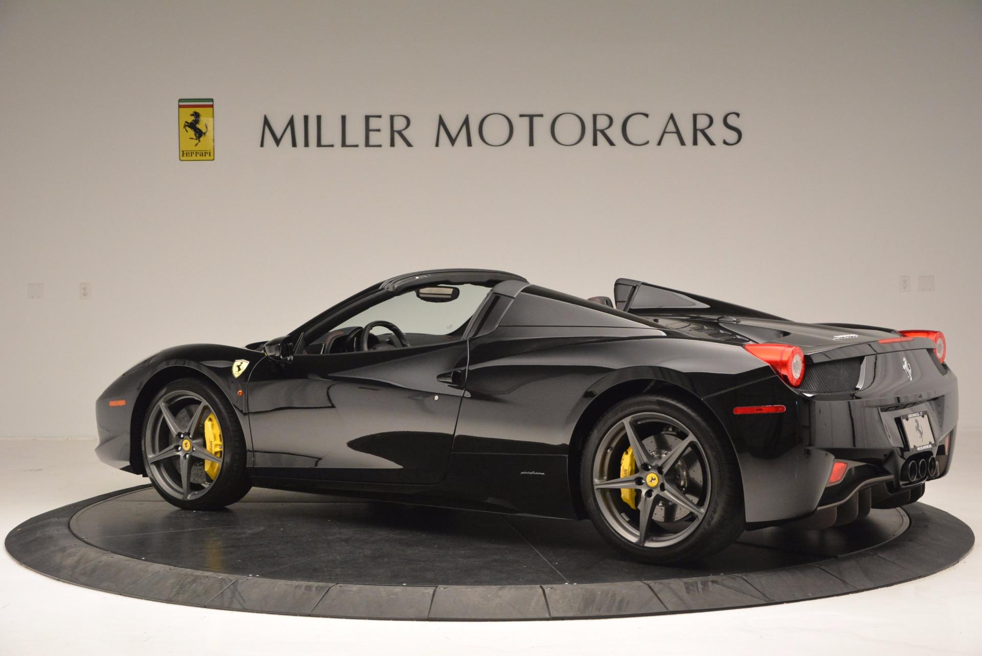 Used 2014 Ferrari 458 Spider  For Sale In Greenwich, CT. Alfa Romeo of Greenwich, 4345 620_p4