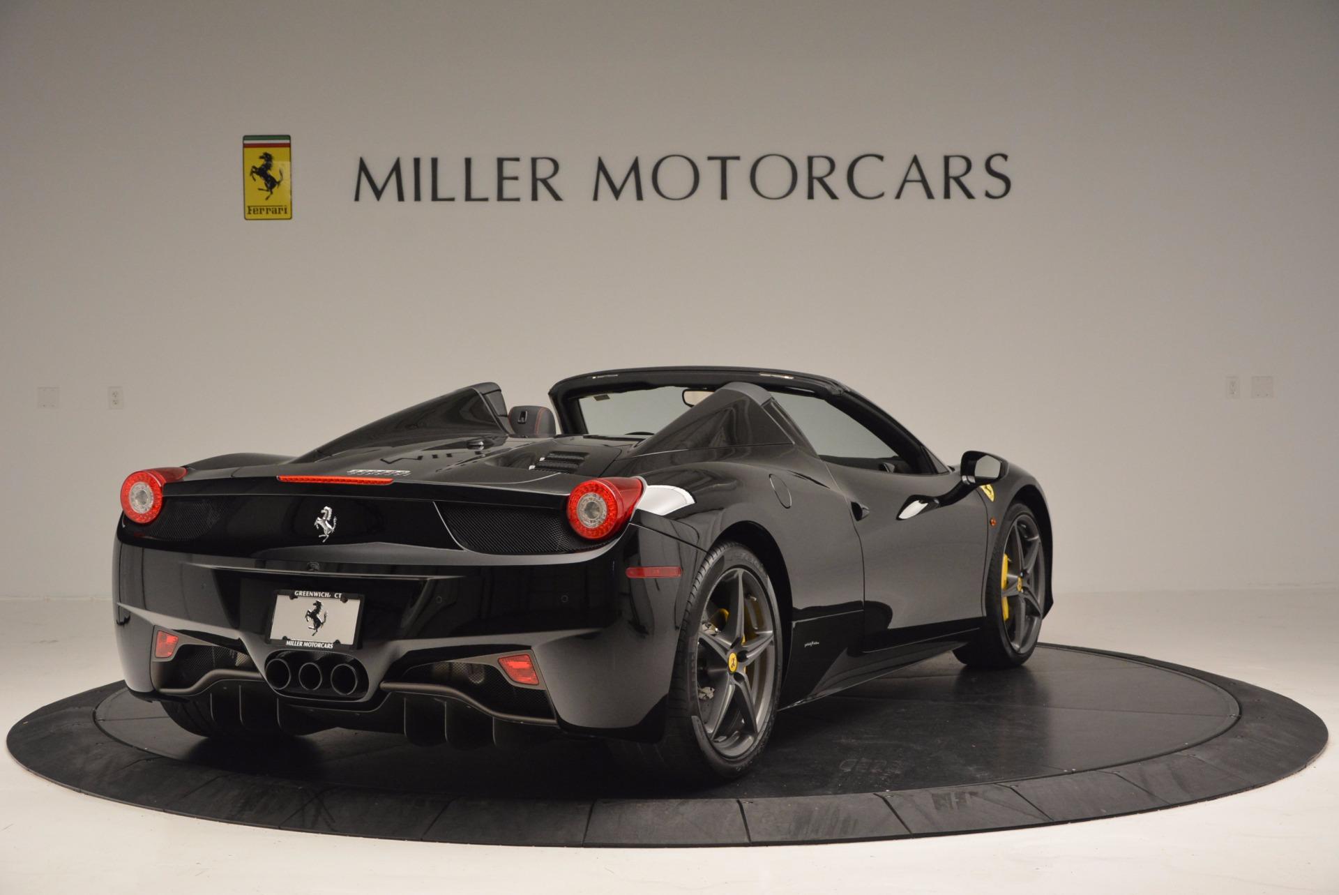 Used 2014 Ferrari 458 Spider  For Sale In Greenwich, CT. Alfa Romeo of Greenwich, 4345 620_p7