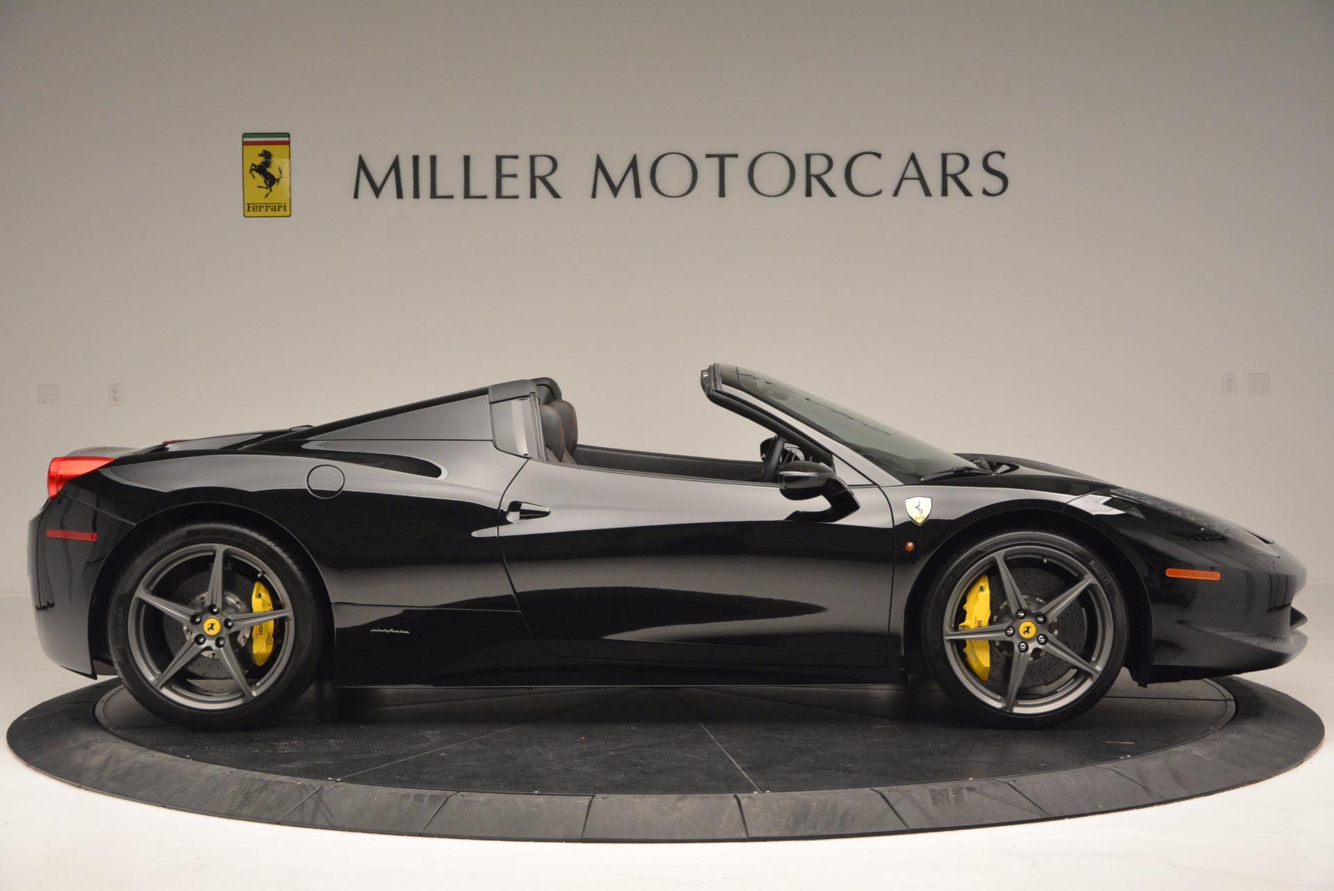 Used 2014 Ferrari 458 Spider  For Sale In Greenwich, CT. Alfa Romeo of Greenwich, 4345 620_p9