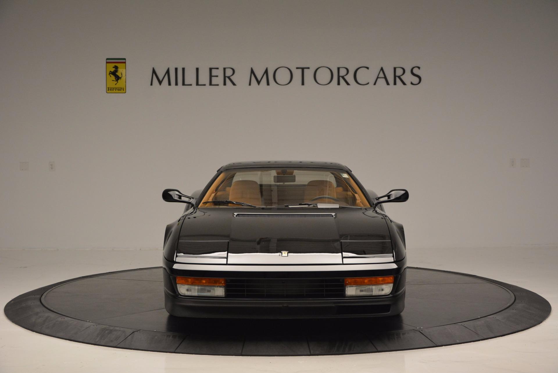 Used 1989 Ferrari Testarossa  For Sale In Greenwich, CT. Alfa Romeo of Greenwich, 4343 622_p12