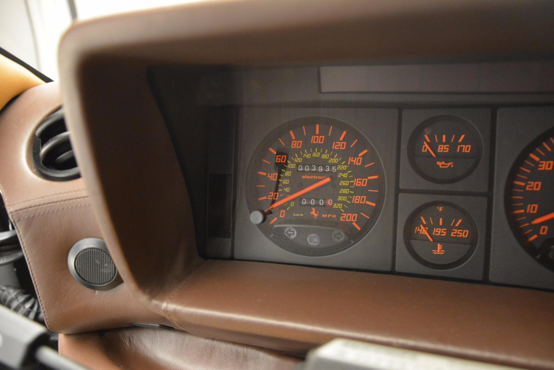 Used 1989 Ferrari Testarossa  For Sale In Greenwich, CT. Alfa Romeo of Greenwich, 4343 622_p20